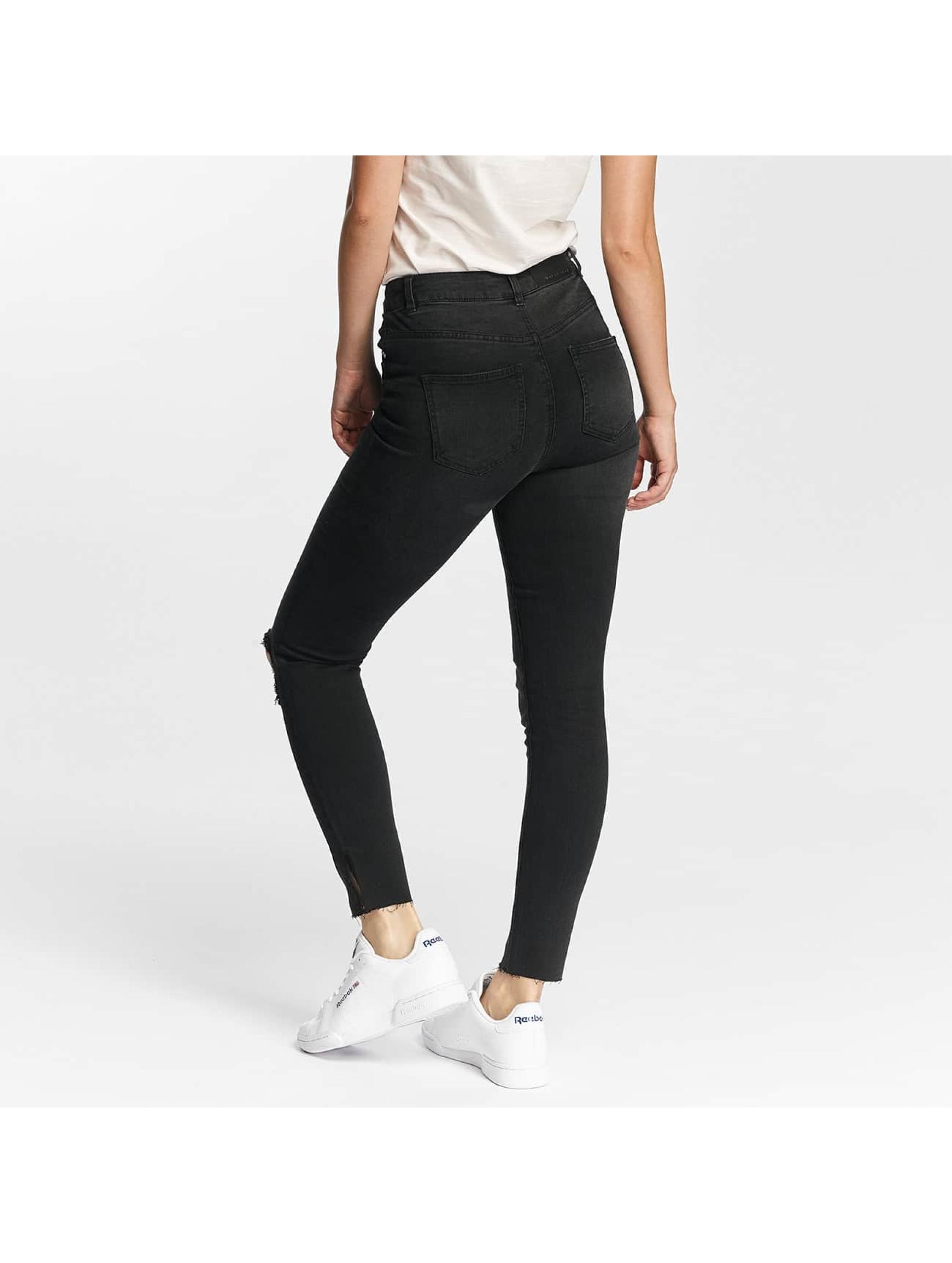 Noisy May Slim Fit Jeans nmLexi èierna