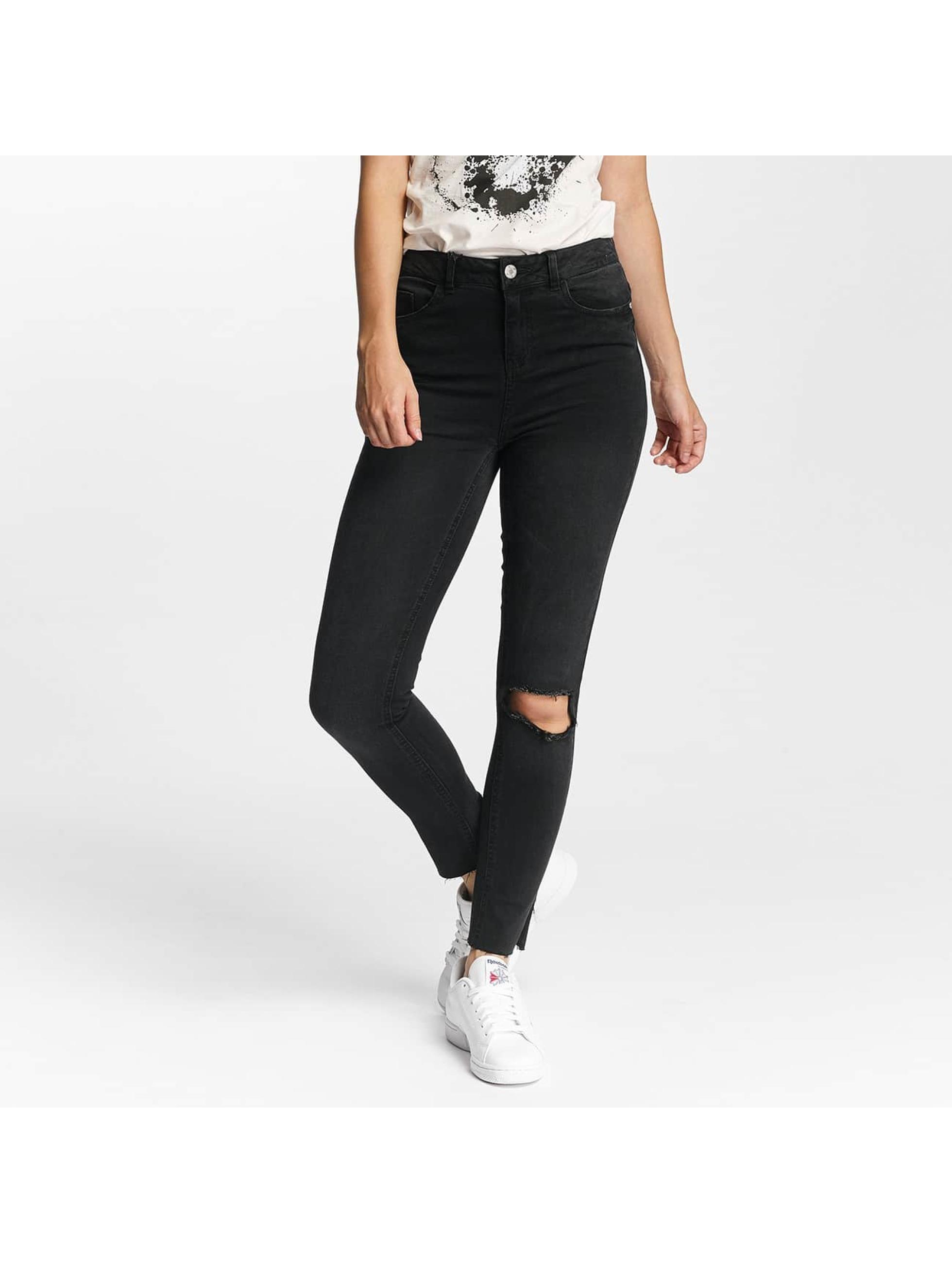 Noisy May Slim Fit Jeans nmLexi čern