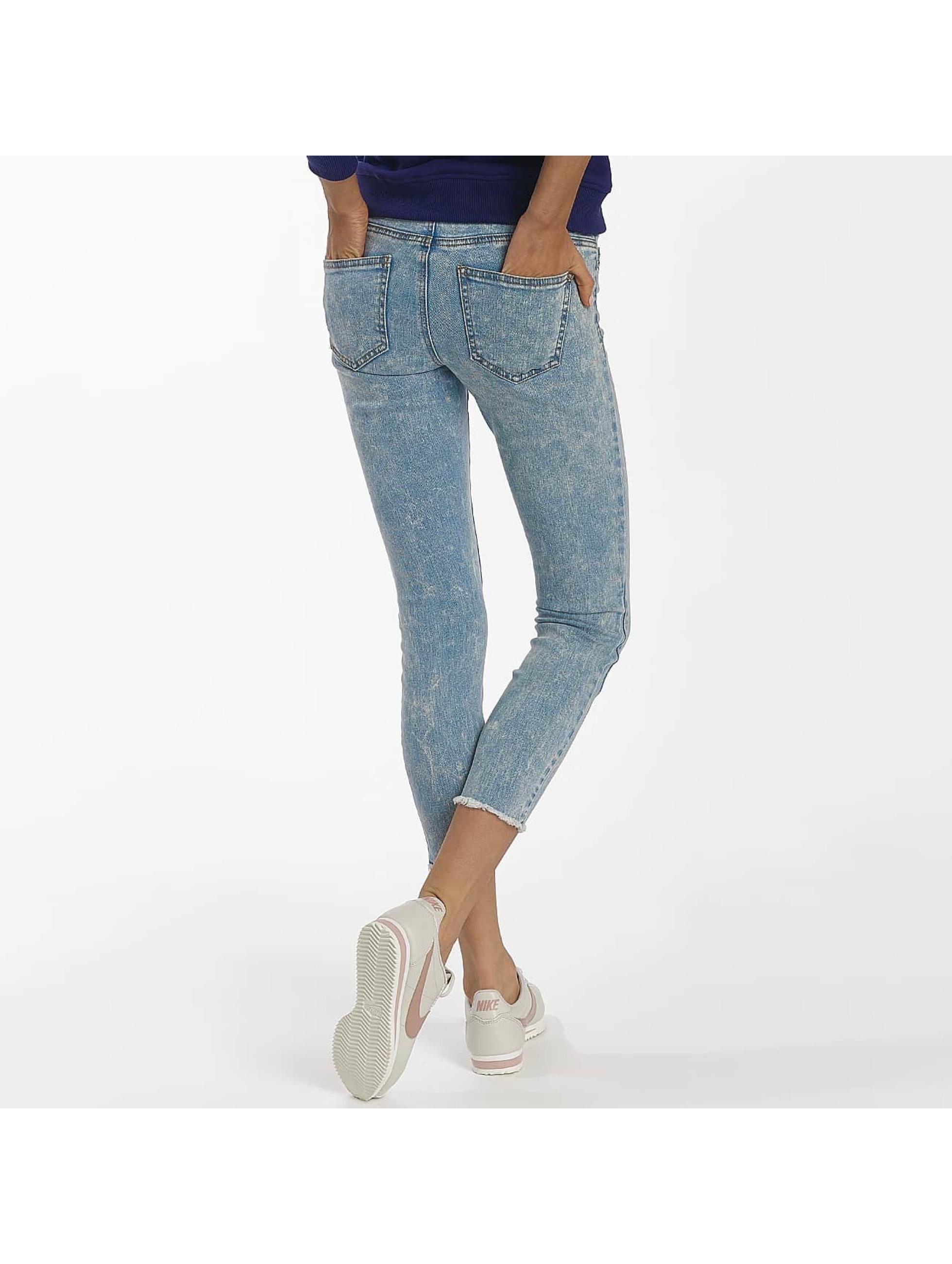 Noisy May Slim Fit Jeans nmEve blå