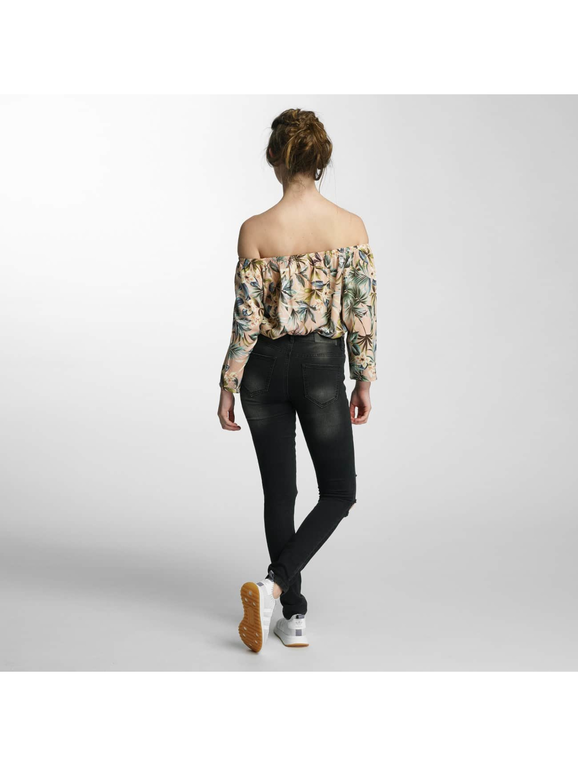 Noisy May Slim Fit Jeans nmEve Super Slim sort