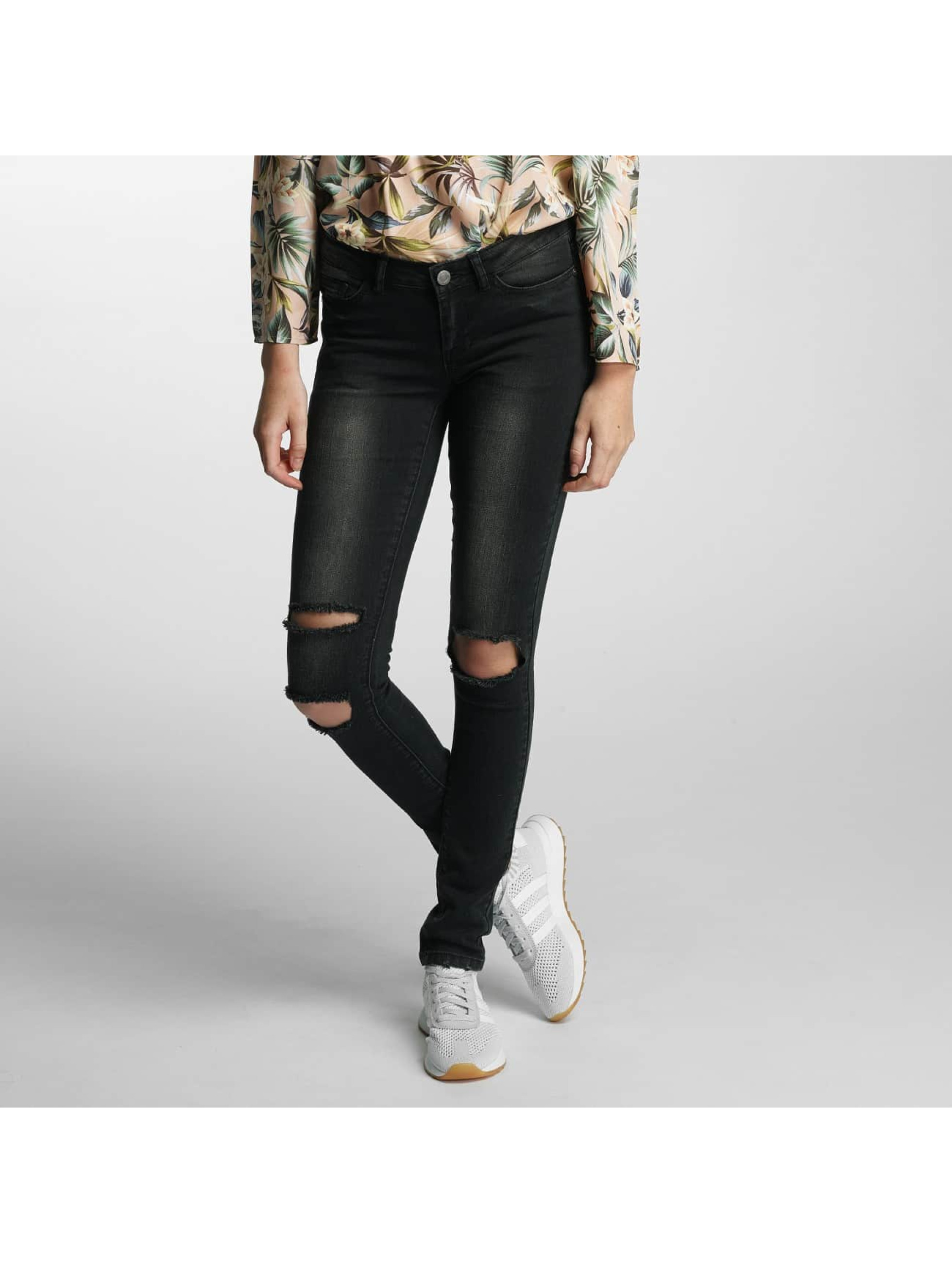 Noisy May Slim Fit Jeans nmEve Super Slim zwart