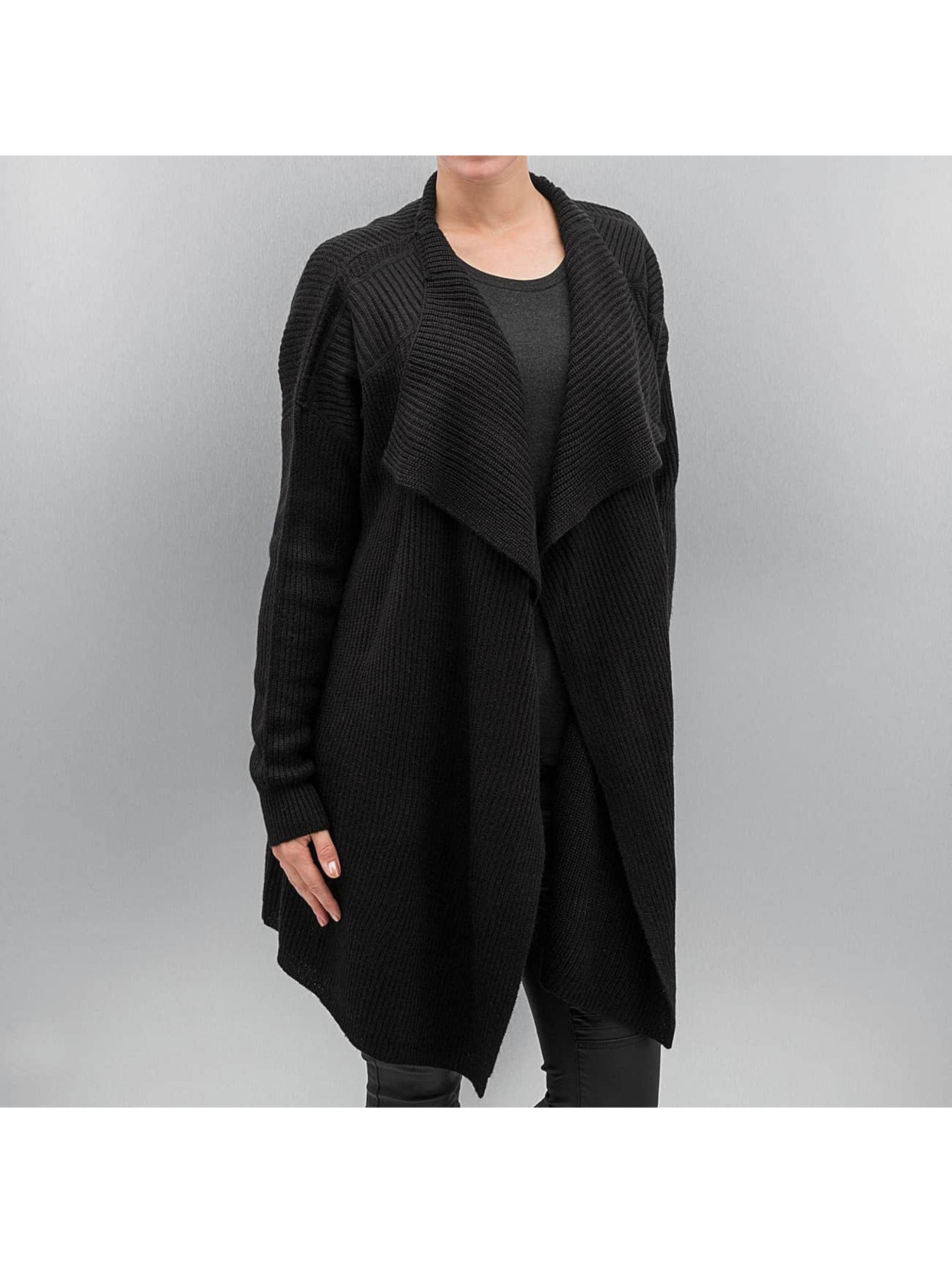 Strickjacke nmShake in schwarz