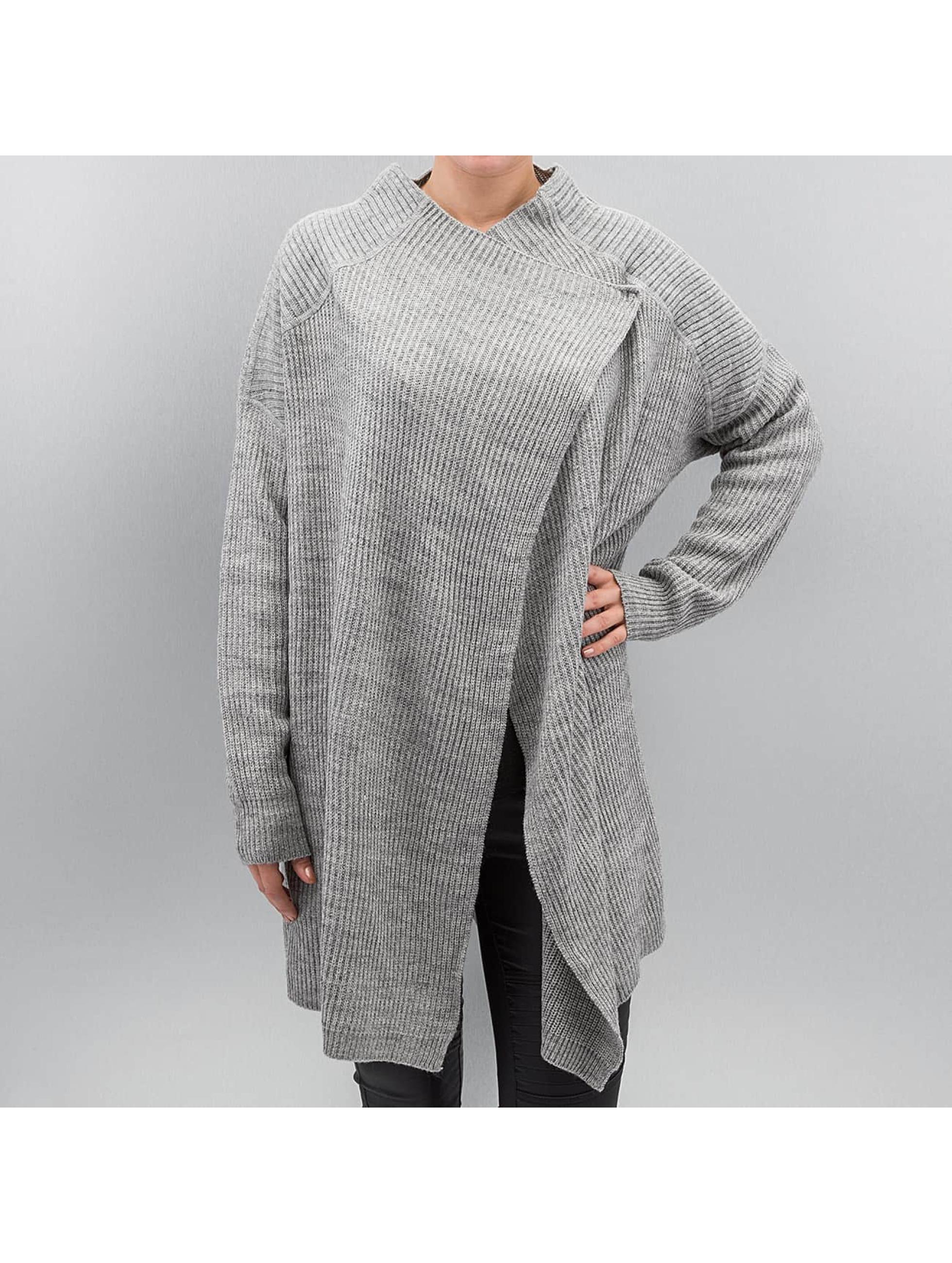 Noisy May Swetry rozpinane nmShake szary