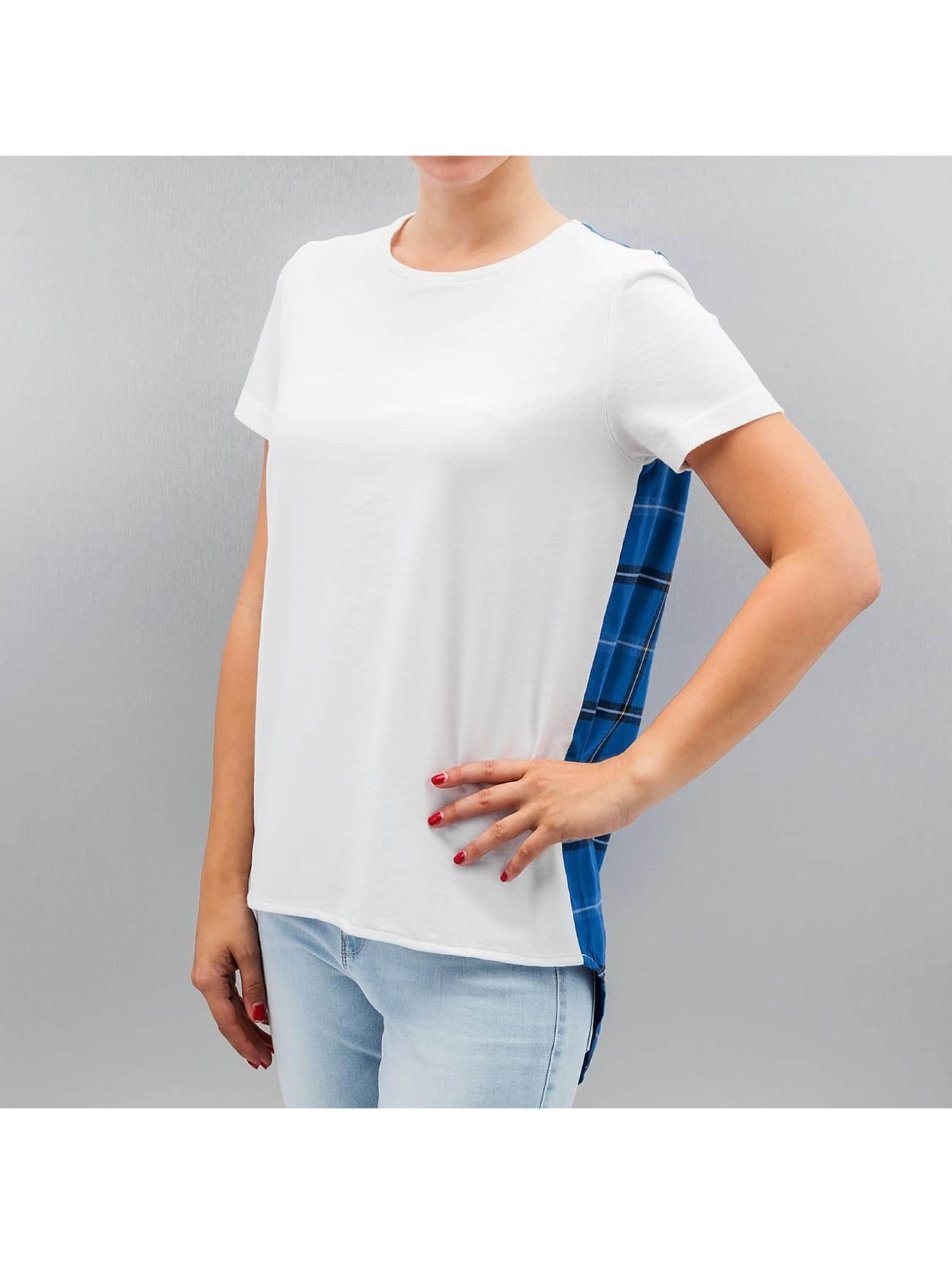 Noisy May T-Shirt nmVisteria blanc