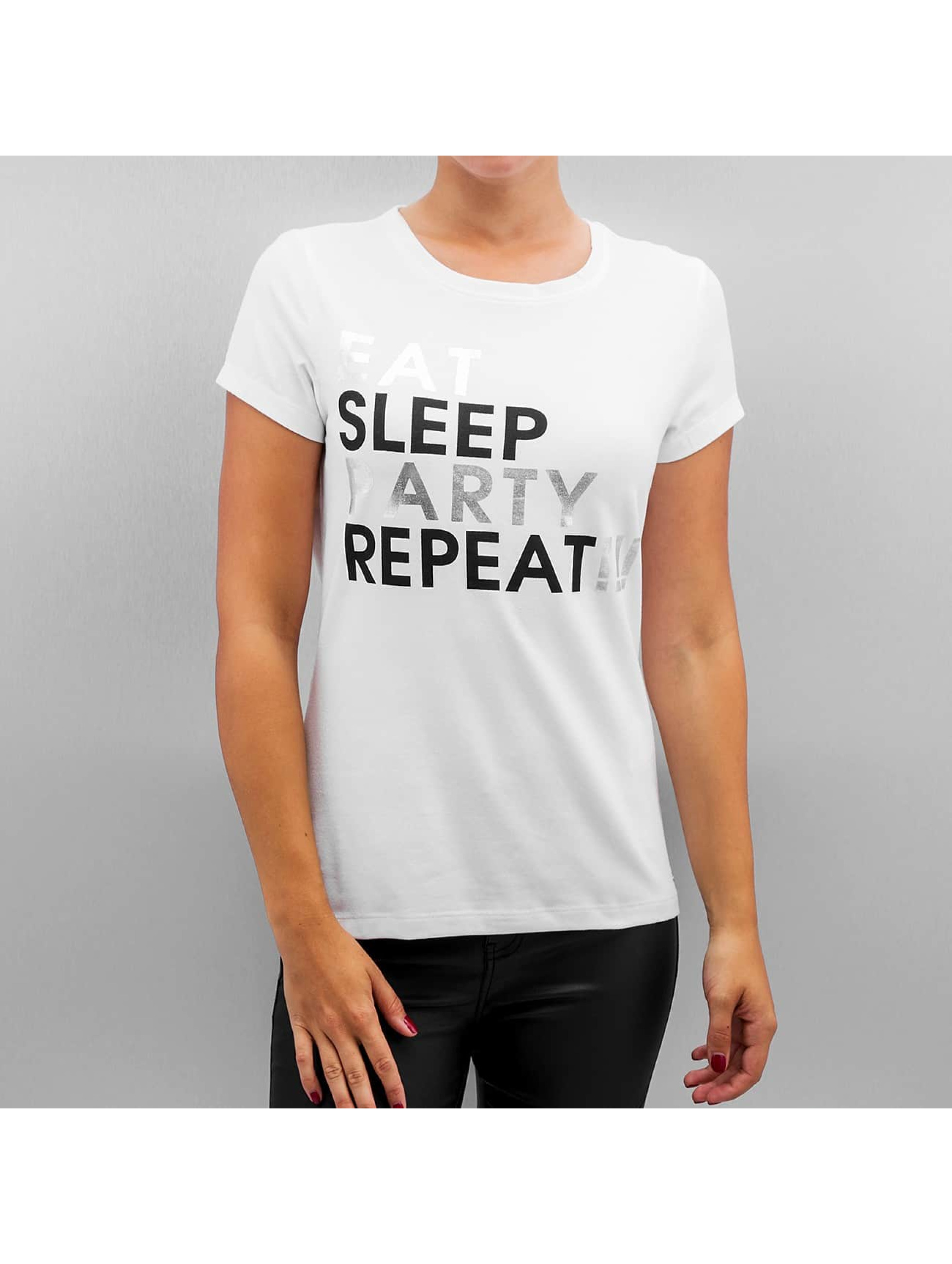 Noisy May Haut / T-Shirt NMGustav en blanc