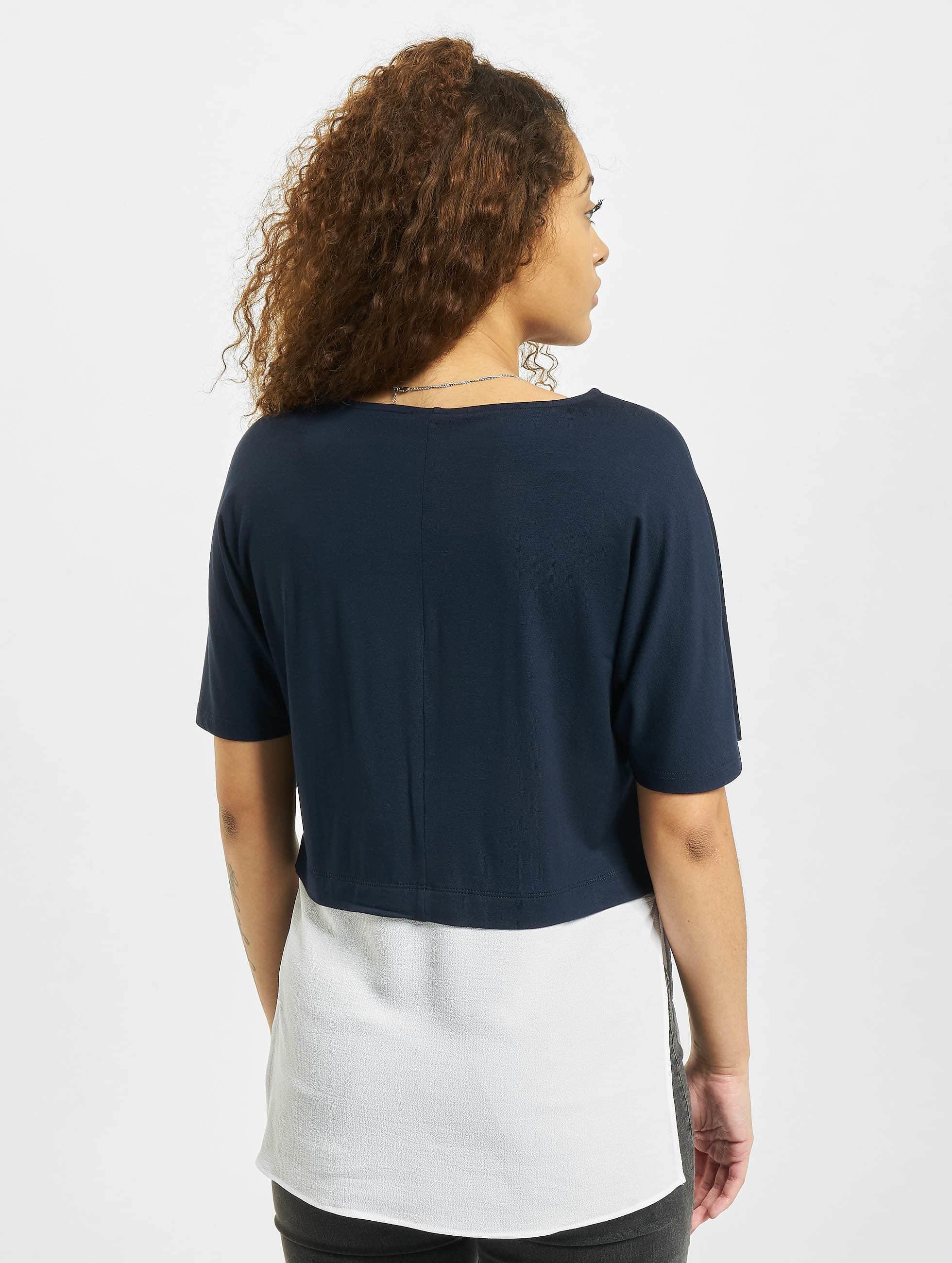 Noisy May T-Shirt nmMolly blau