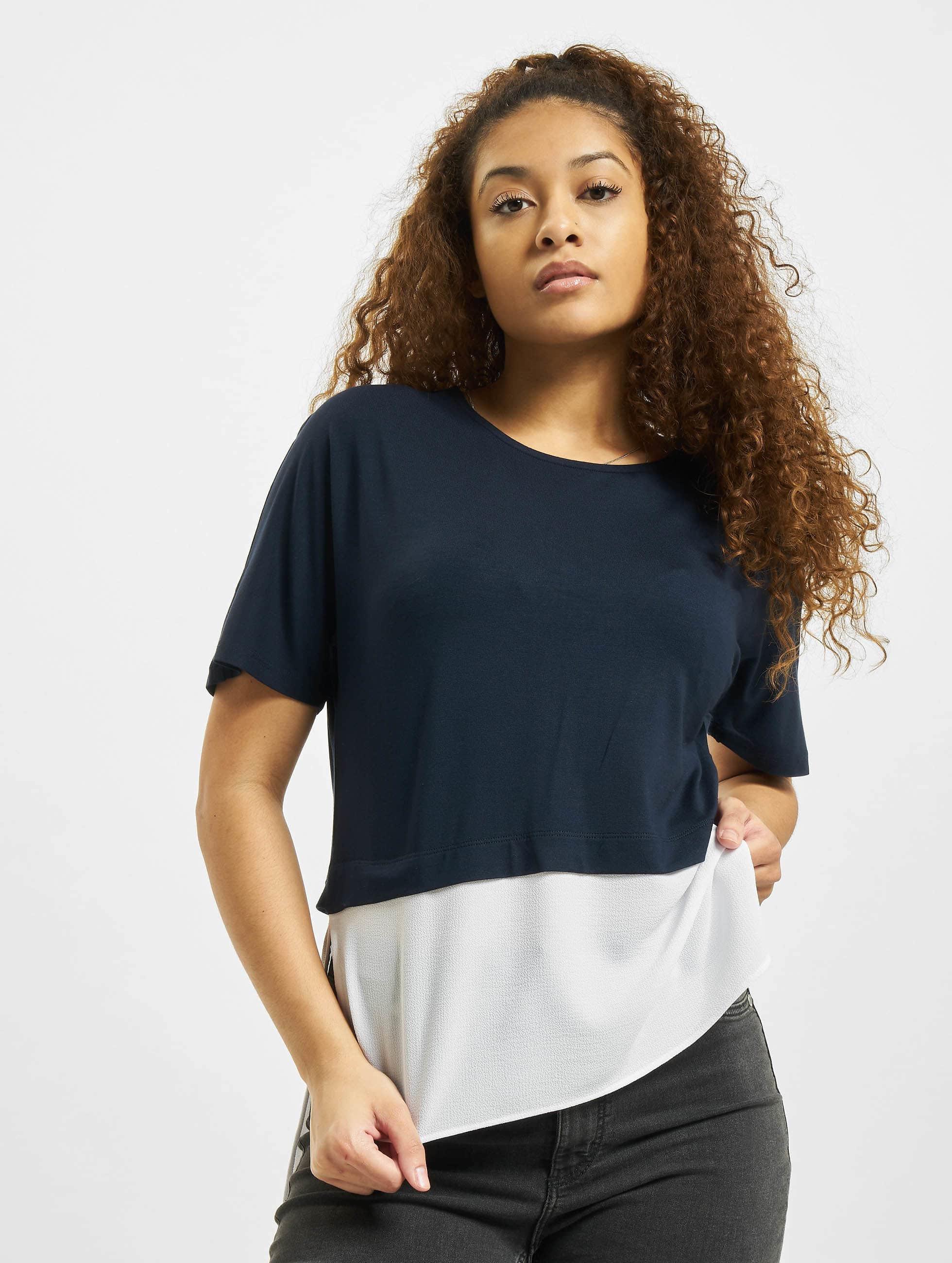 Noisy May T-Shirt nmMolly blue