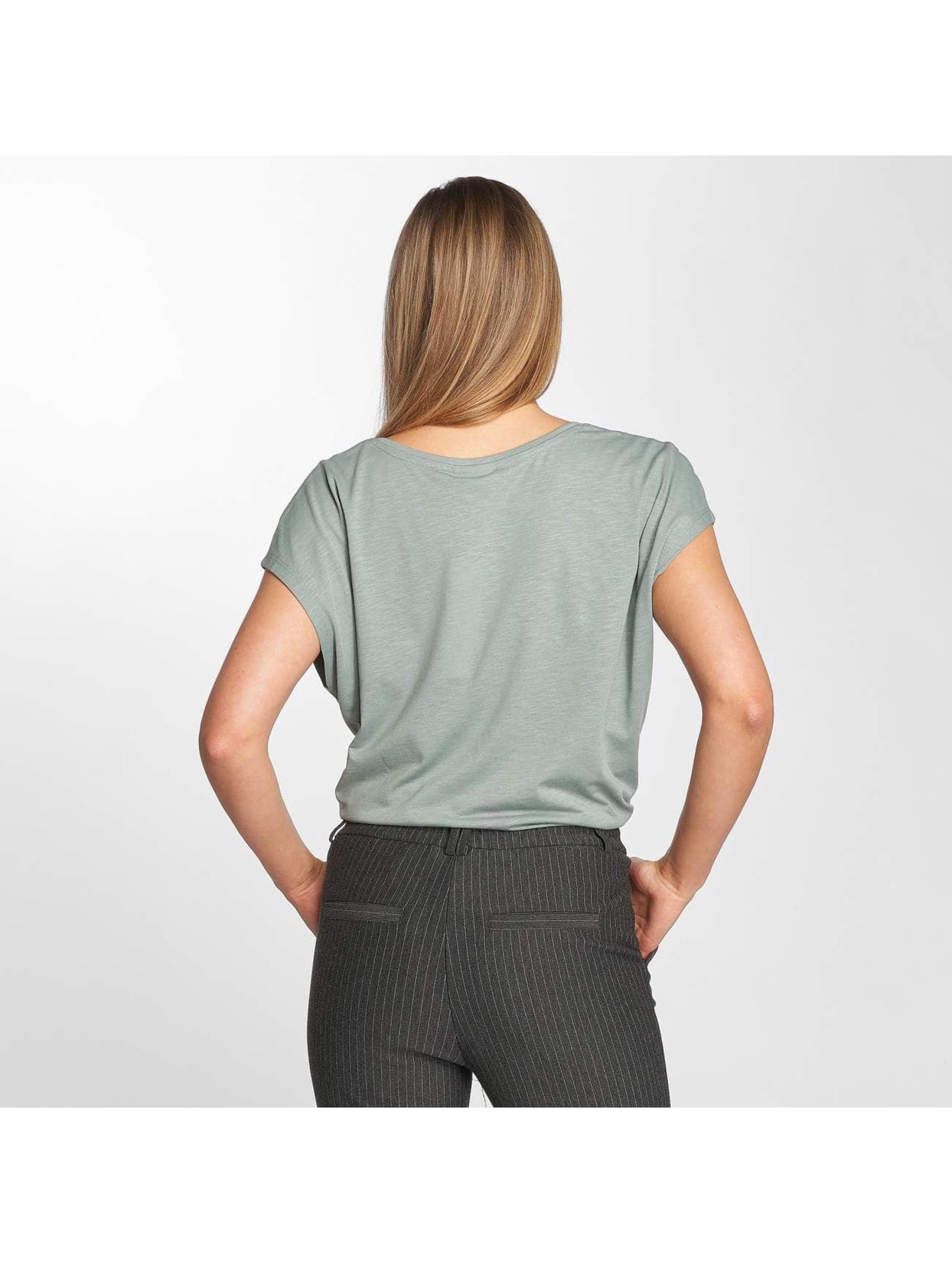 Noisy May T-Shirt Mathilde grün