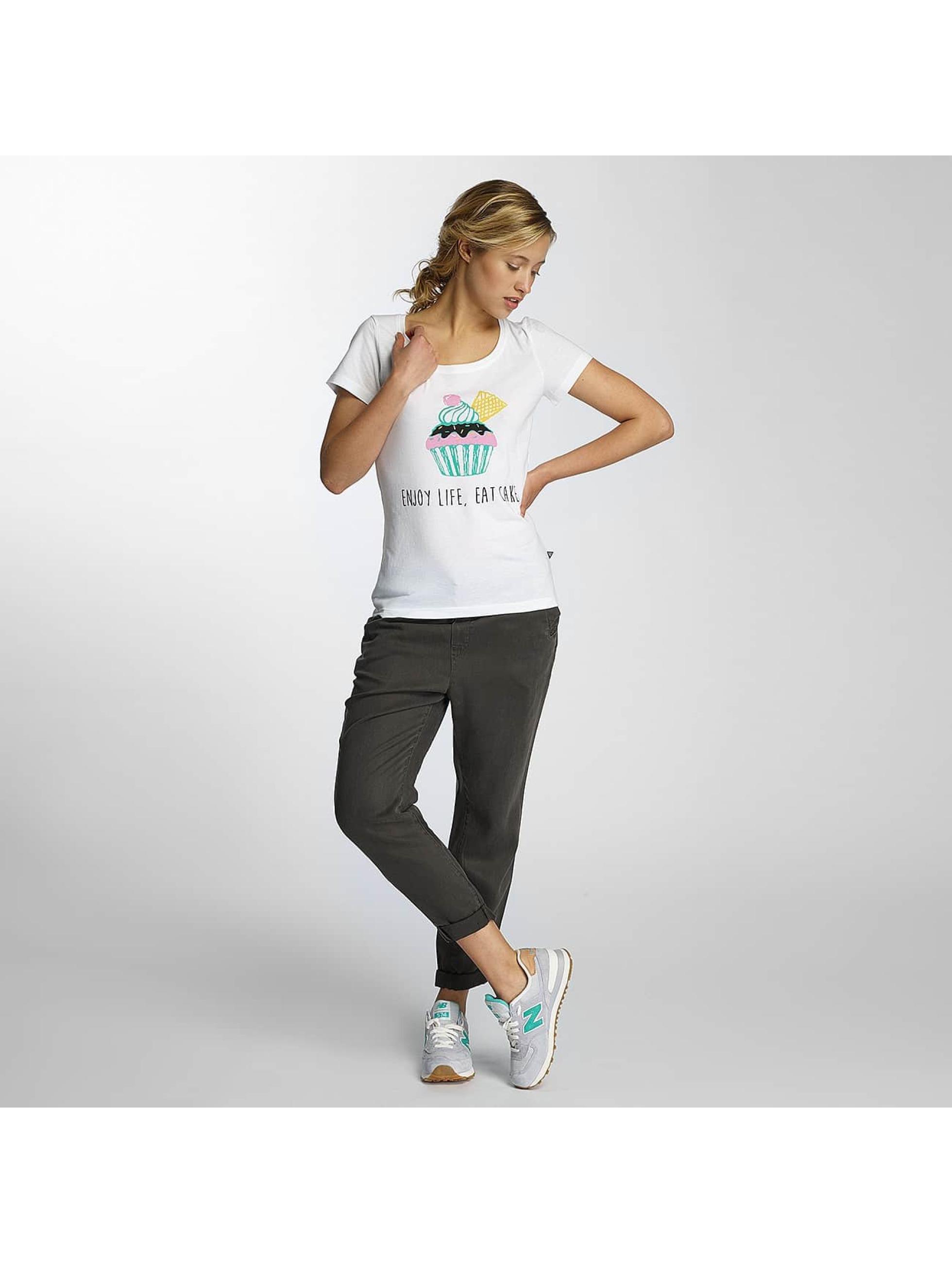 Noisy May T-Shirt nmAxel Printed weiß