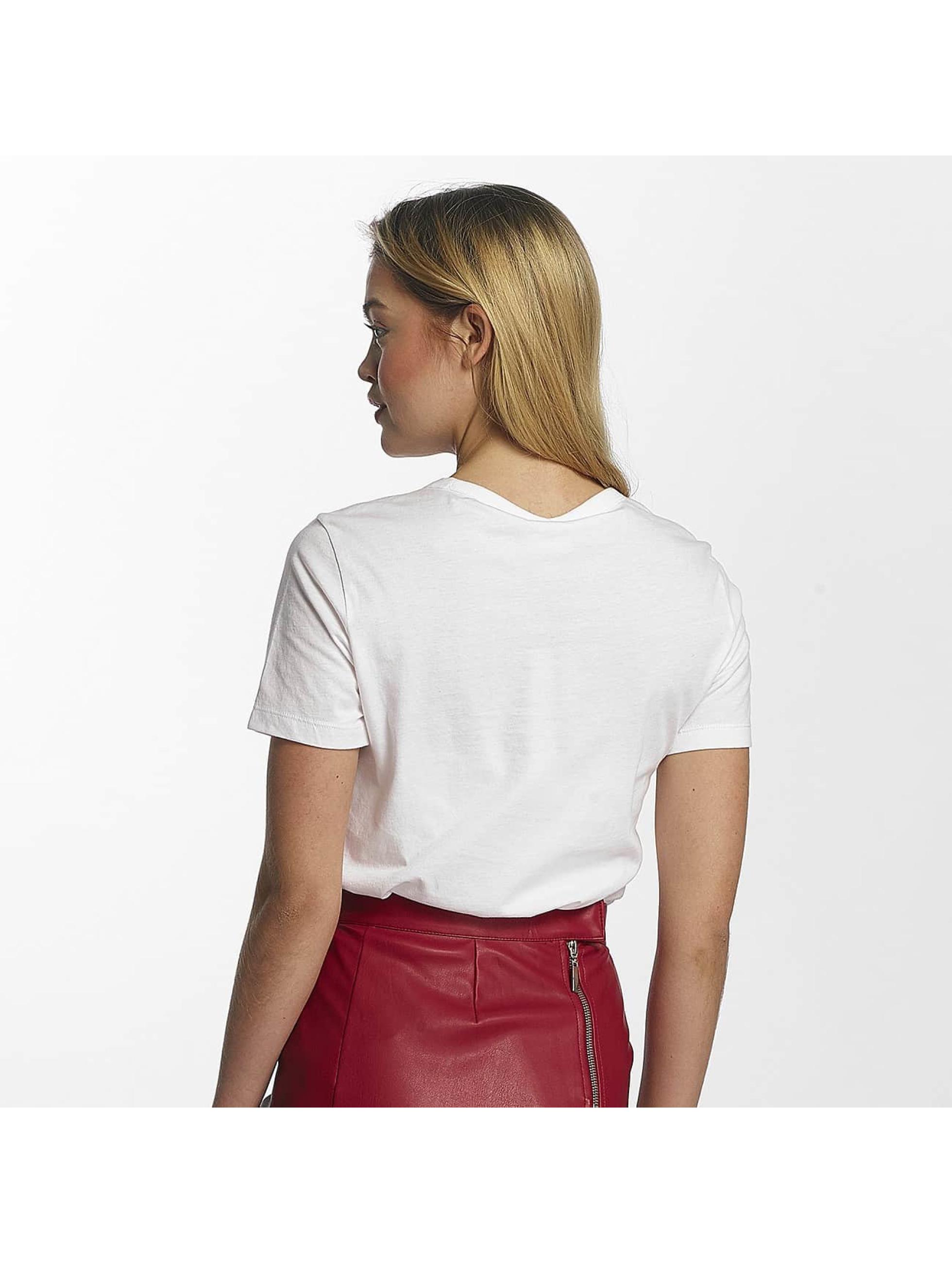 Noisy May T-Shirt nmNovelty Cheeky weiß