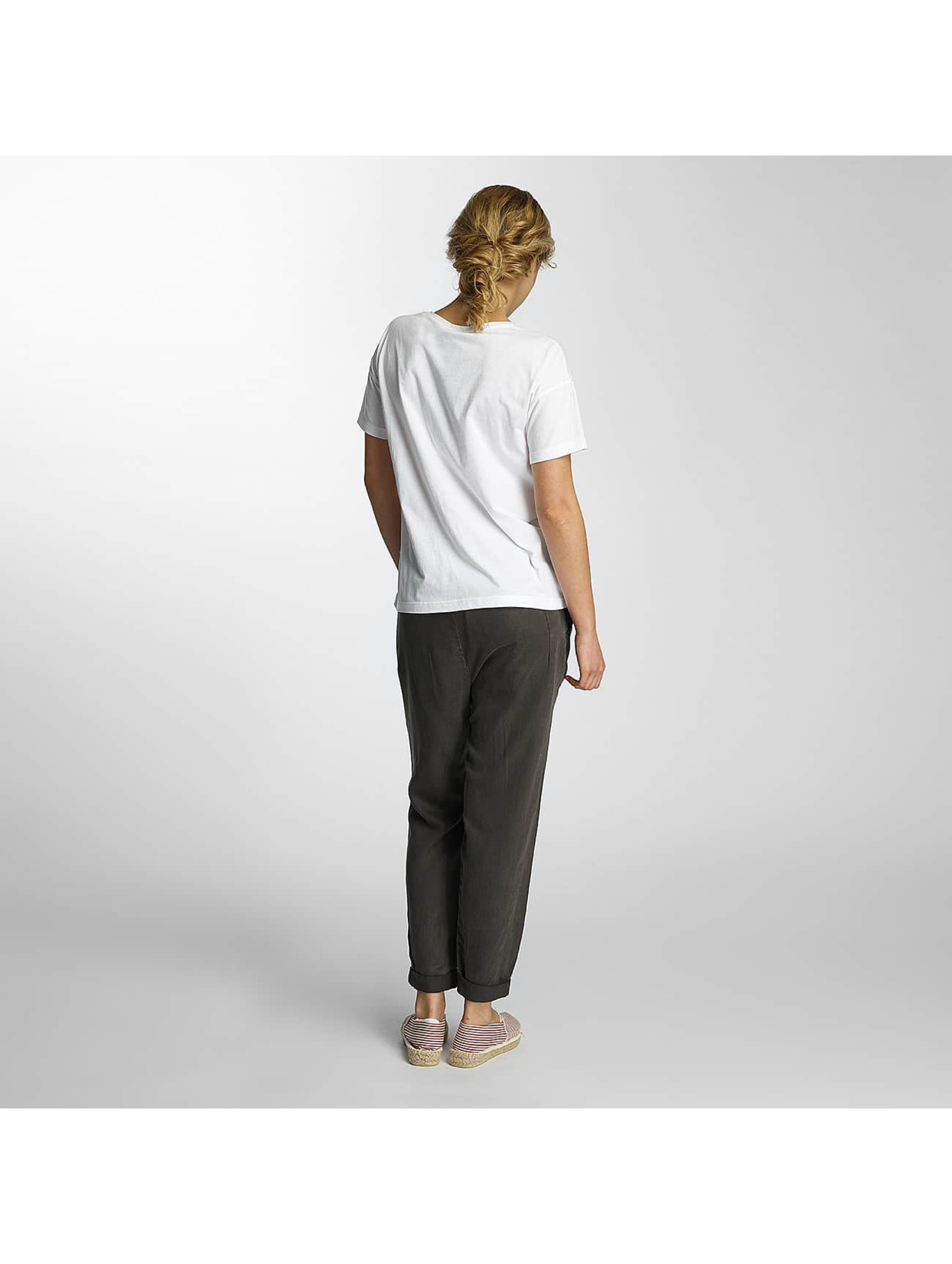 Noisy May T-Shirt nmAlfred Printed white