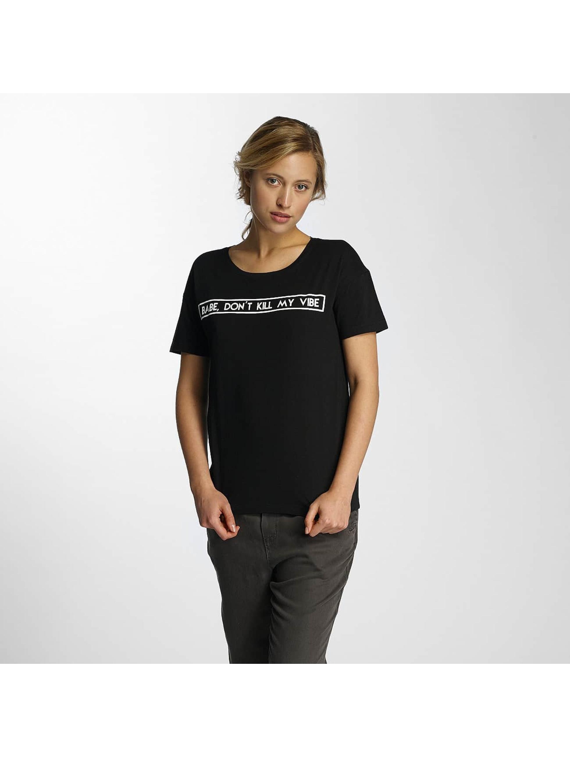 Noisy May T-skjorter nmAlfred Printed svart