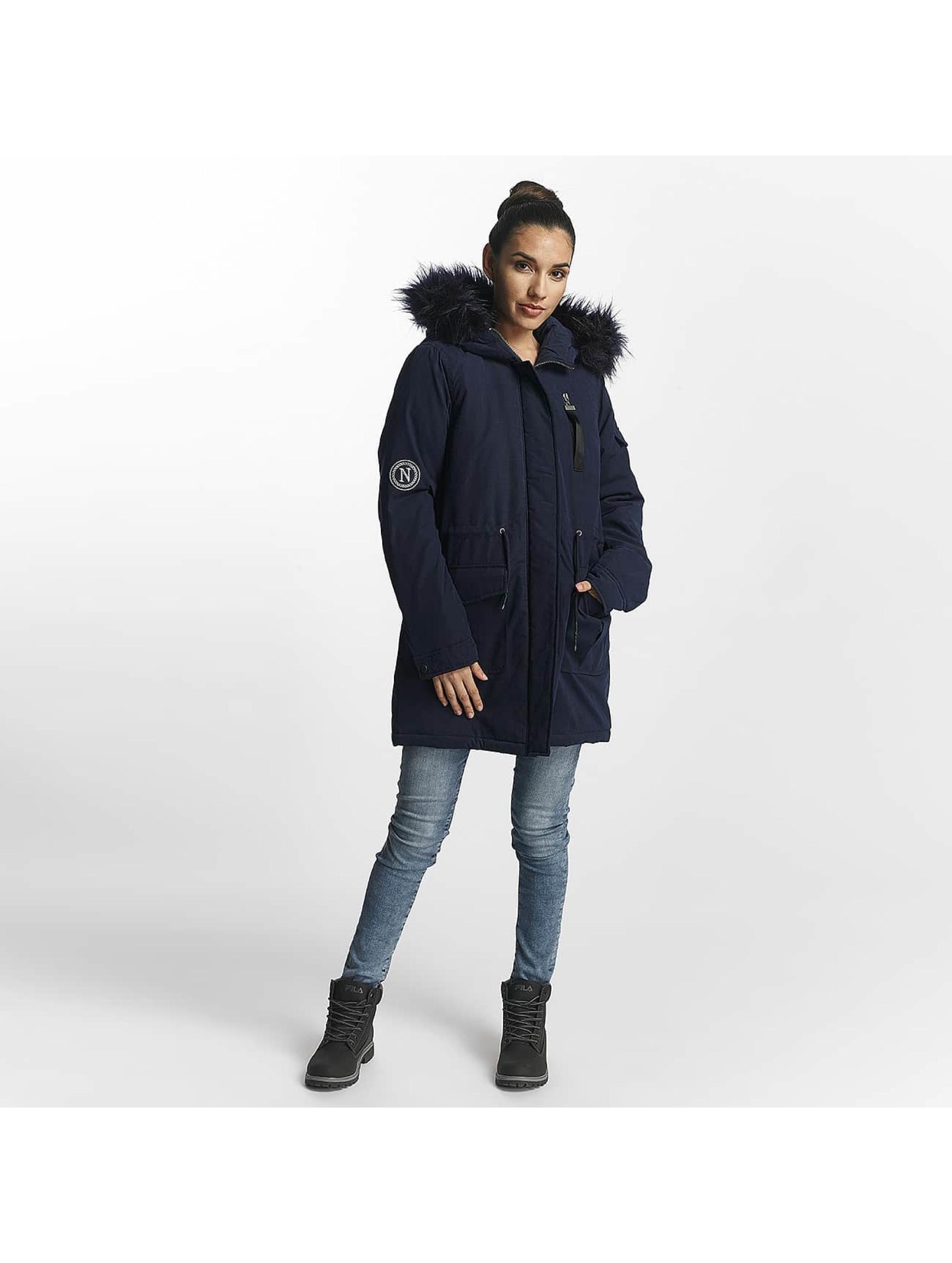 Noisy May Winter Jacket nmLove blue