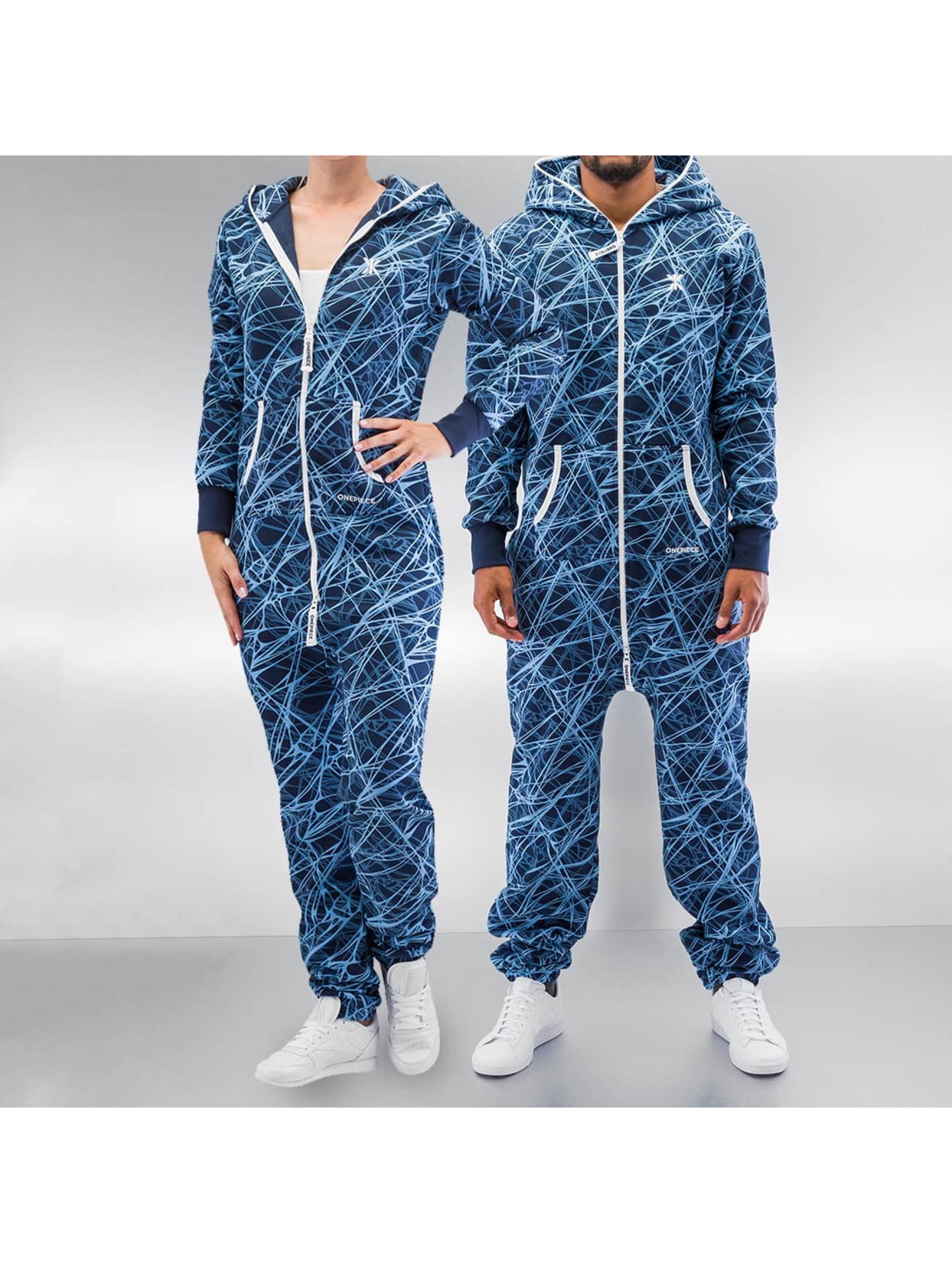 OnePiece Jumpsuit Reach blau
