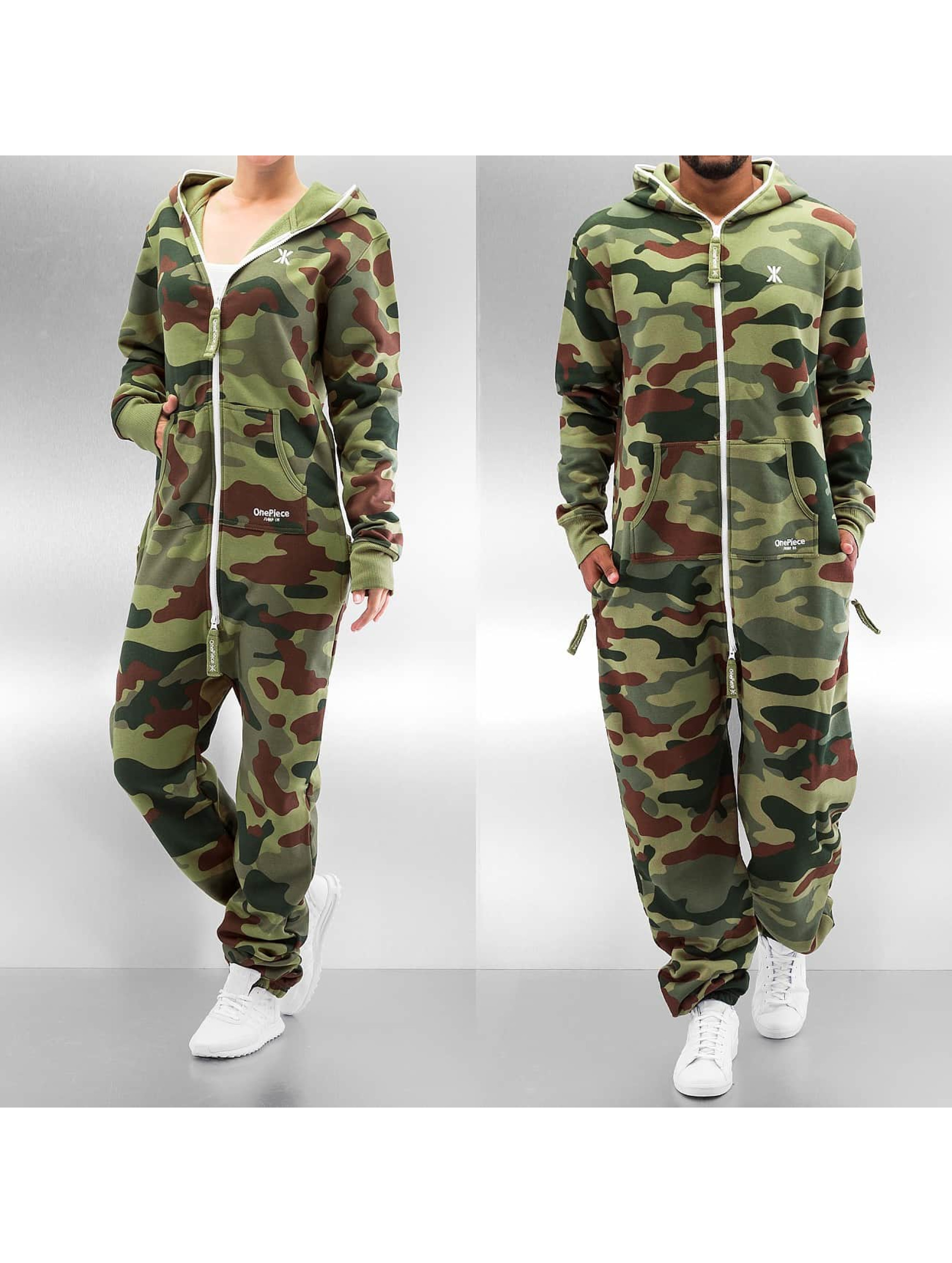 Jumpsuit Camouflage in camouflage