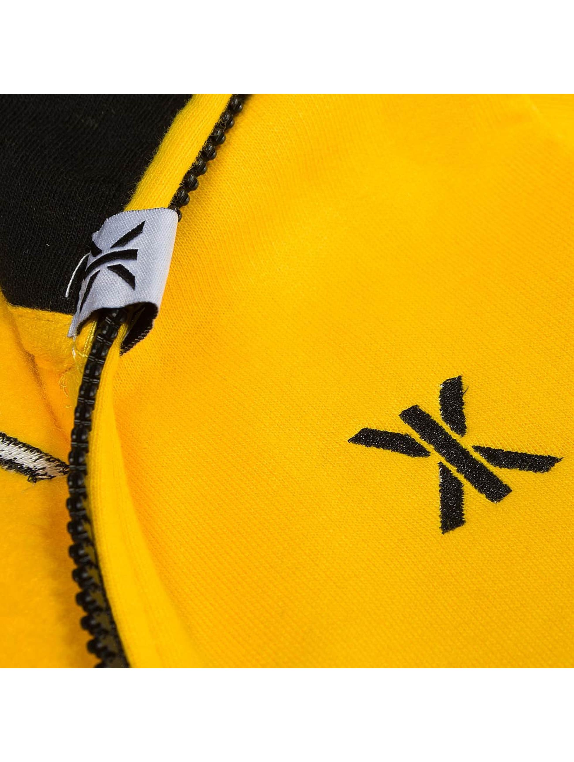 Onepiece jumpsuit Lazy geel