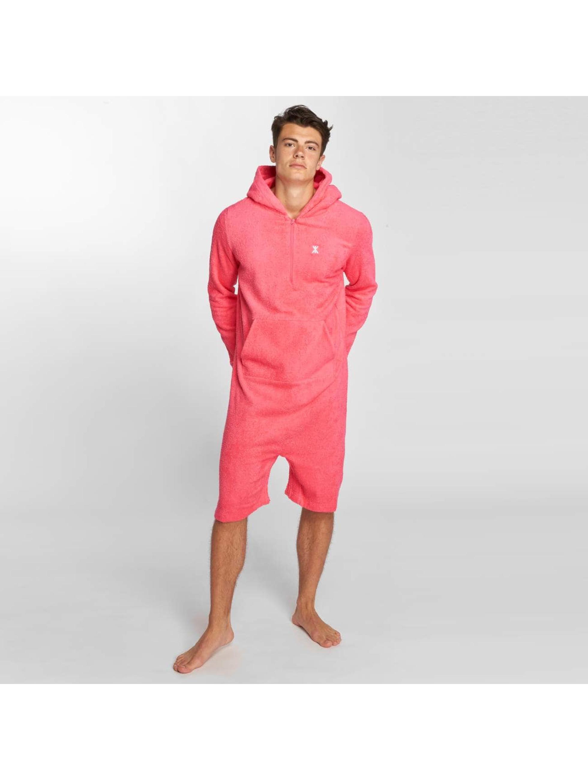 Onepiece Jumpsuit Towel pink