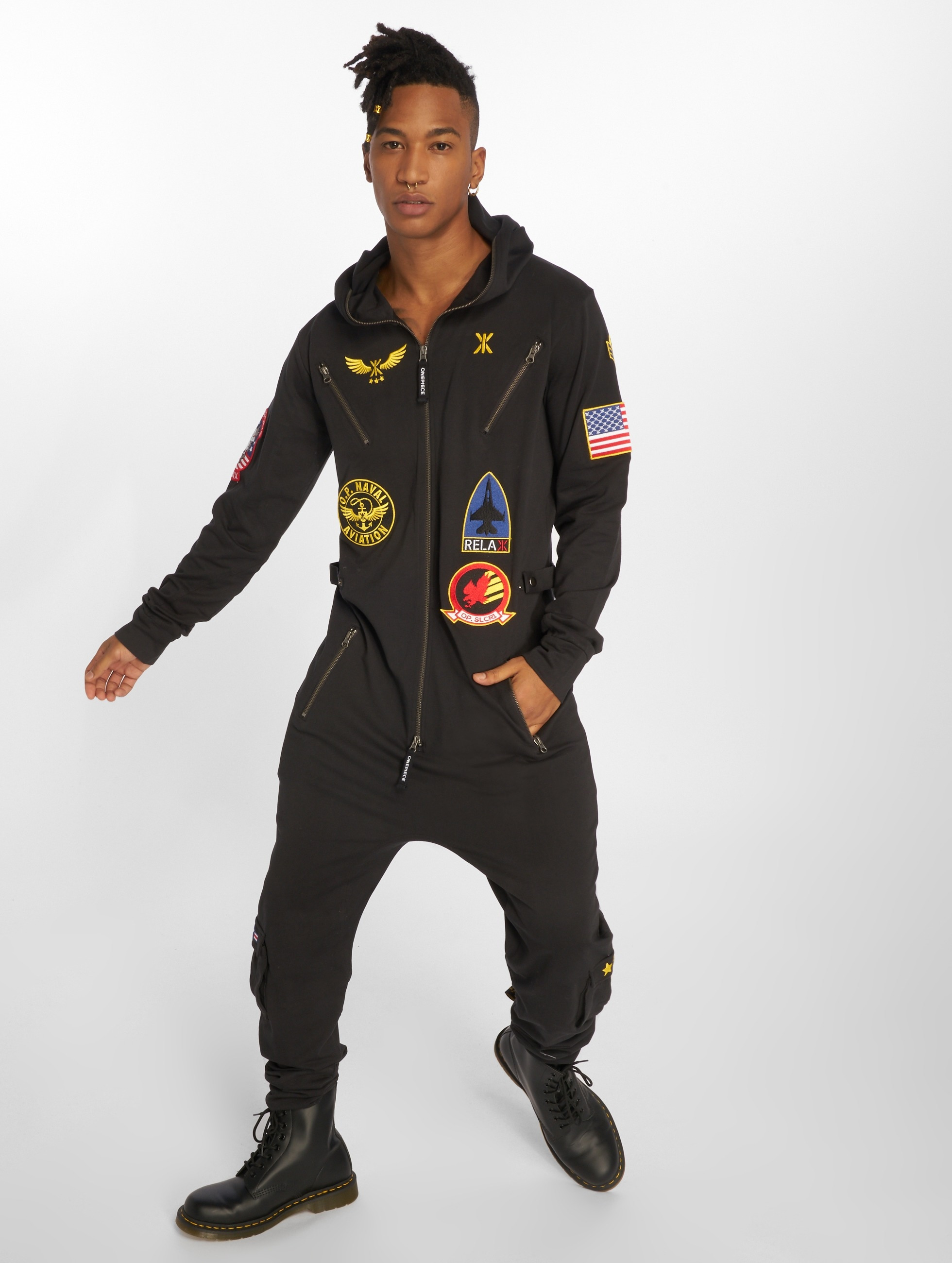 OnePiece Jumpsuits Aviator black