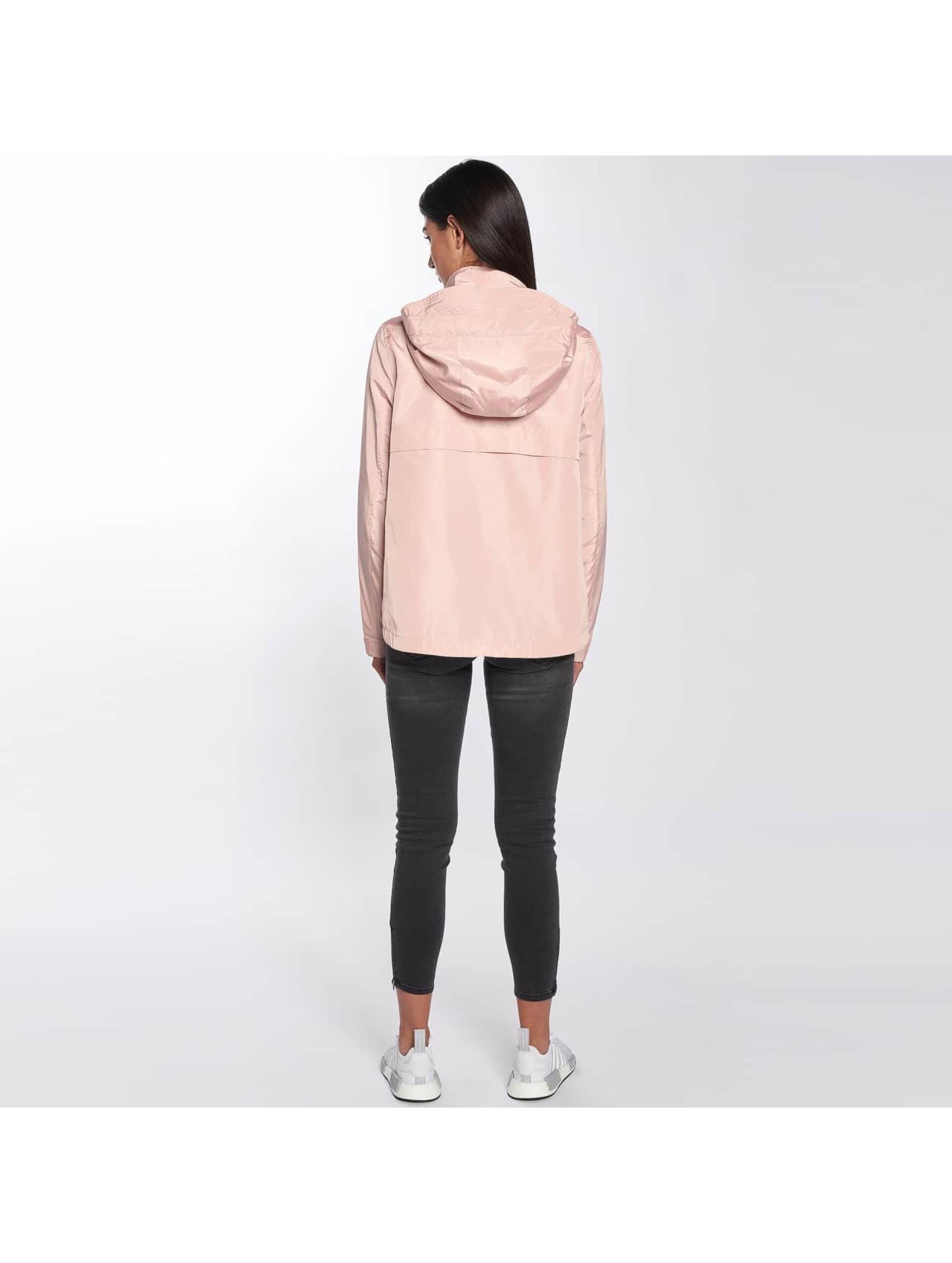 Only Демисезонная куртка onlLina Nylon Parka розовый