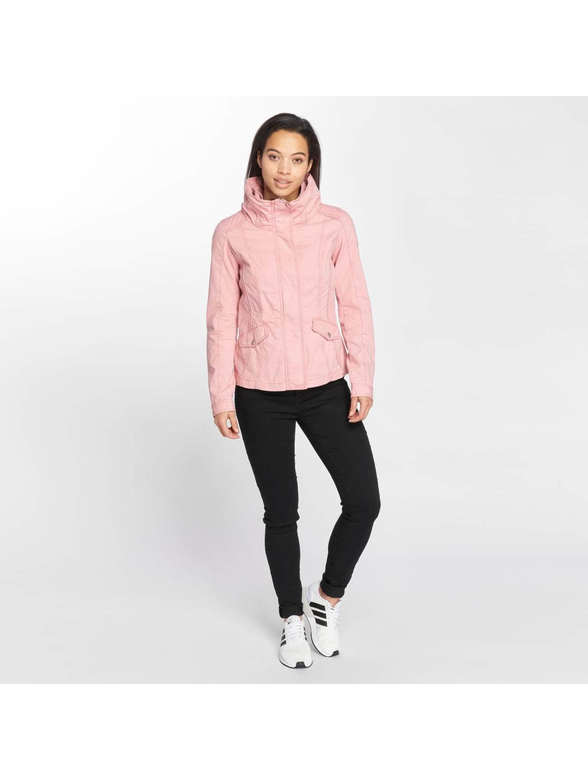 Only Демисезонная куртка onlDoris Short Spring розовый