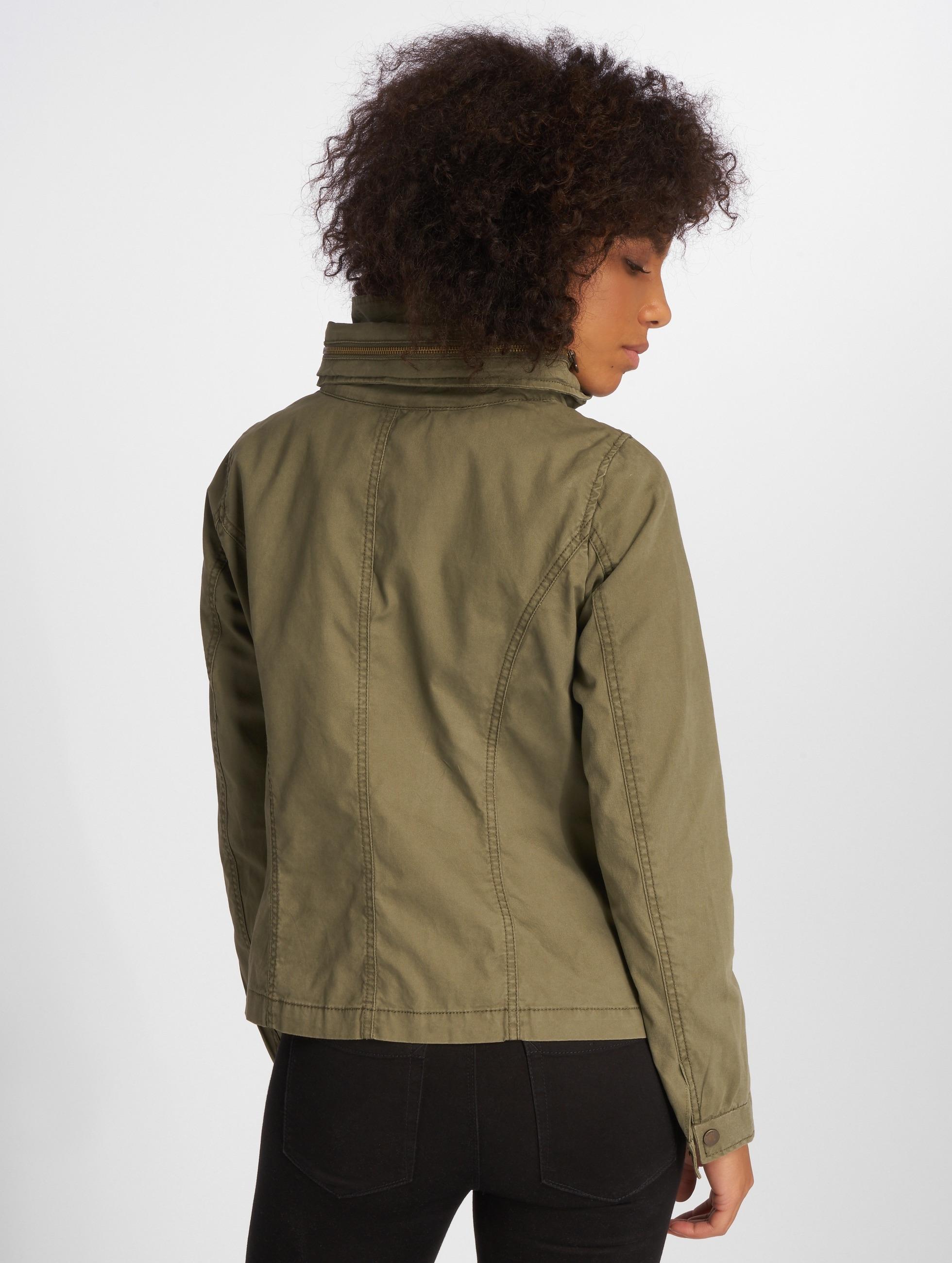 Only Демисезонная куртка onlDoris хаки