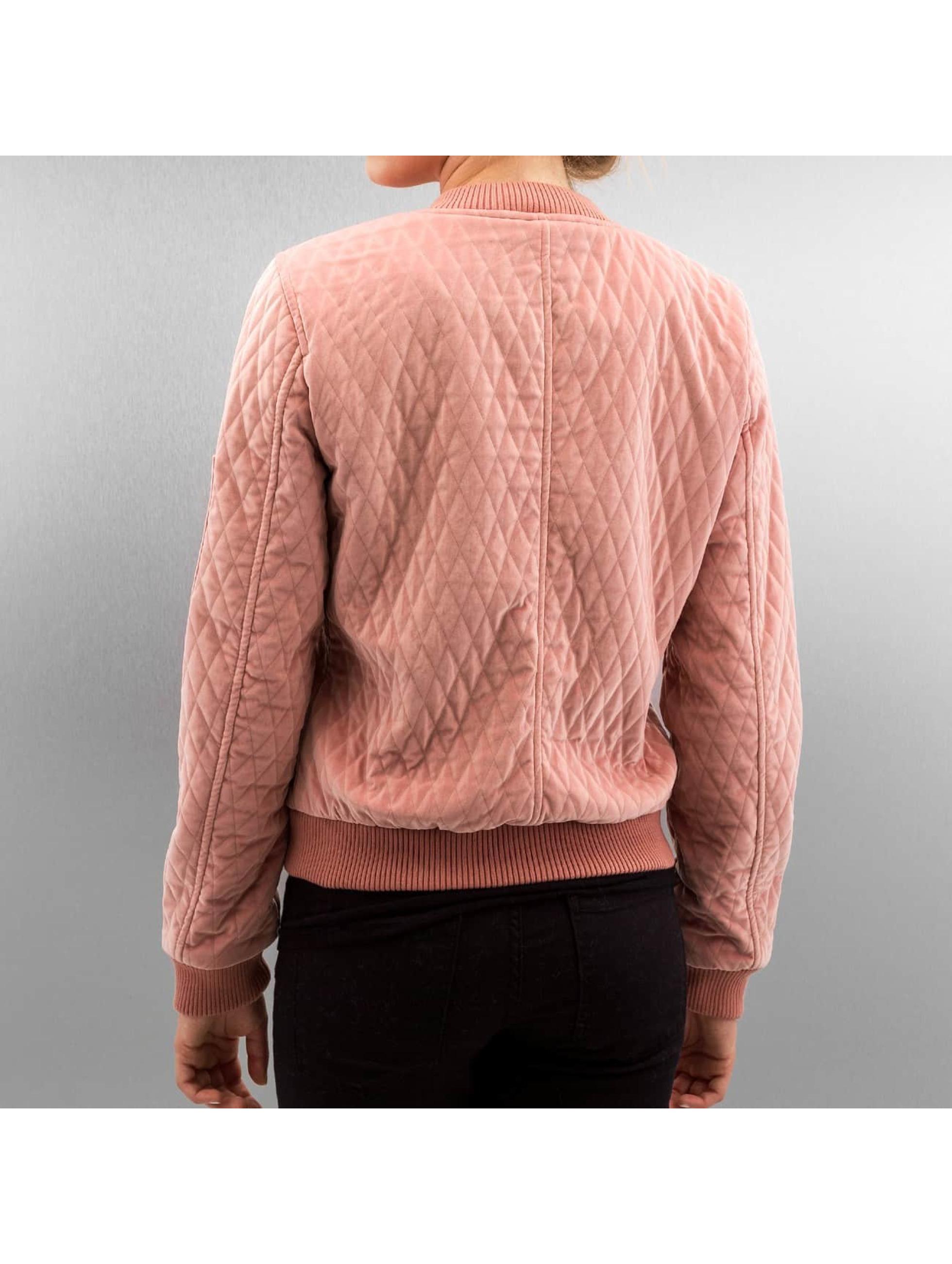 Only Куртка-бомбардир onlDarion розовый