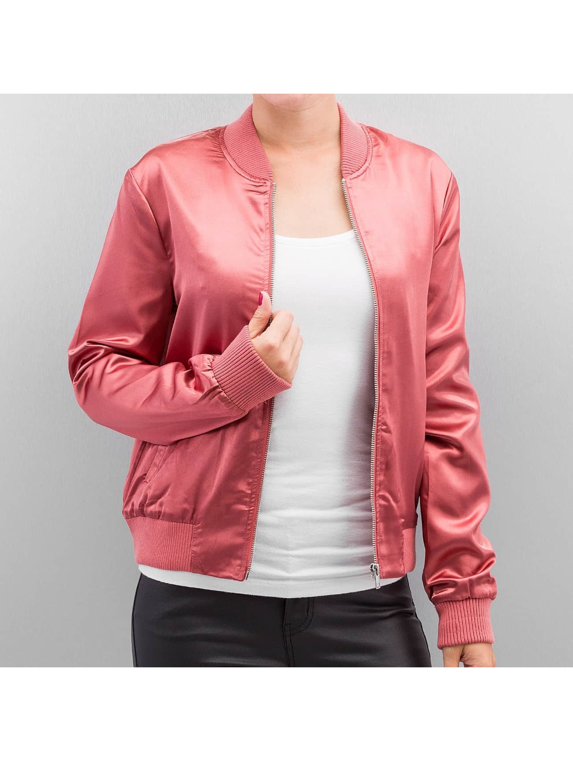 Only Куртка-бомбардир onlStarly розовый