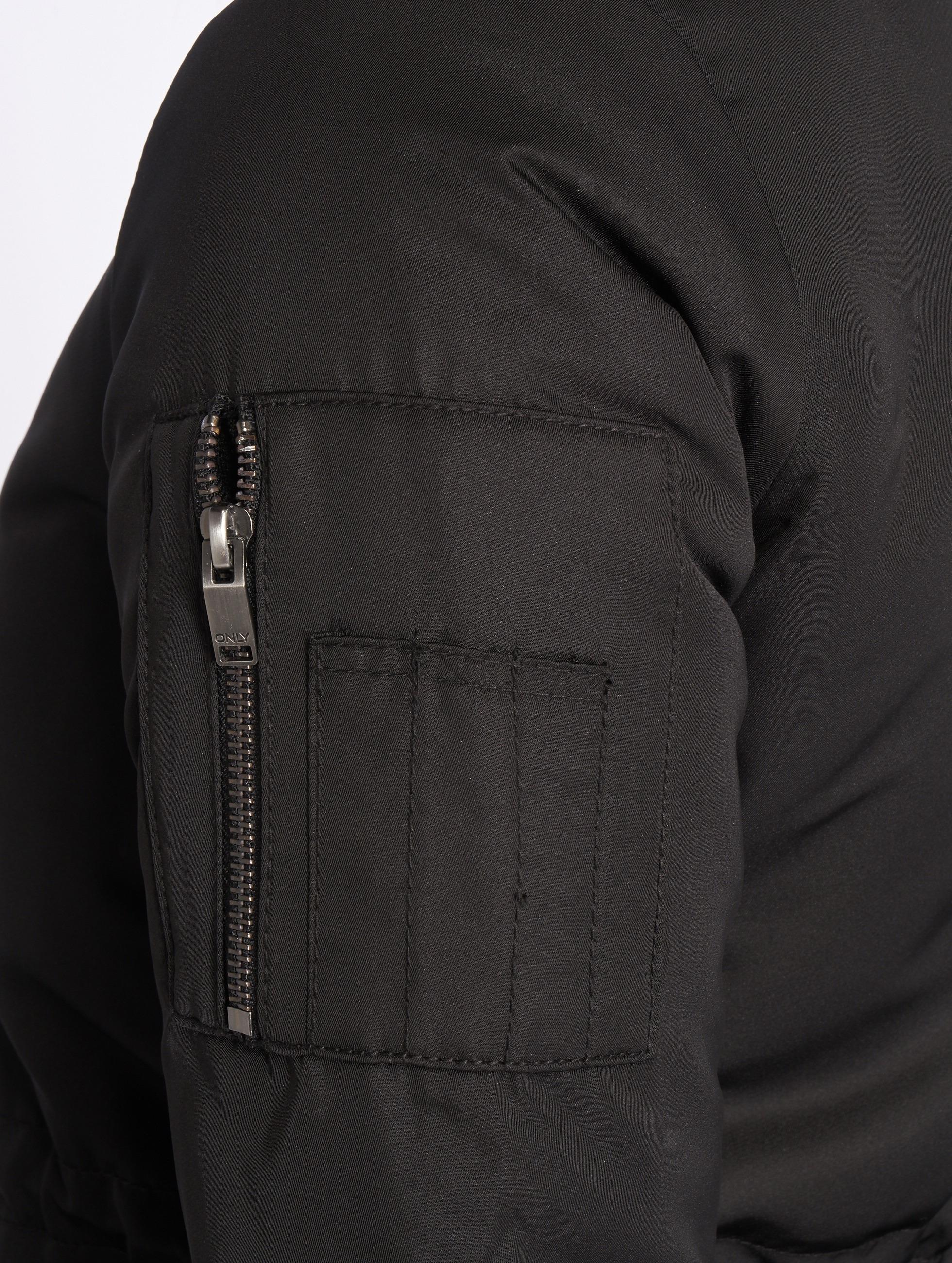 Only Куртка-бомбардир onlElla Long черный