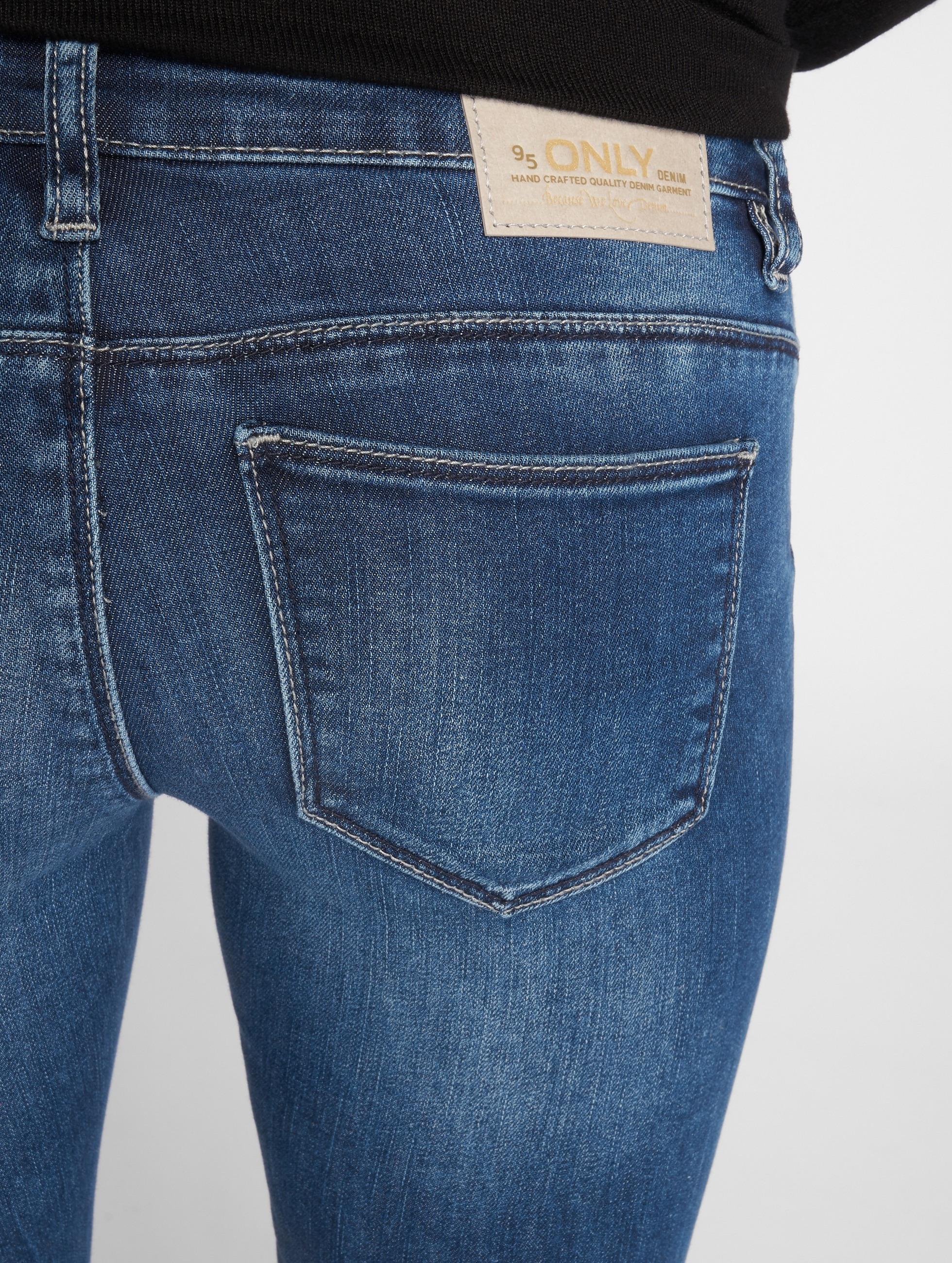 Only Облегающие джинсы onlCoral Slim синий