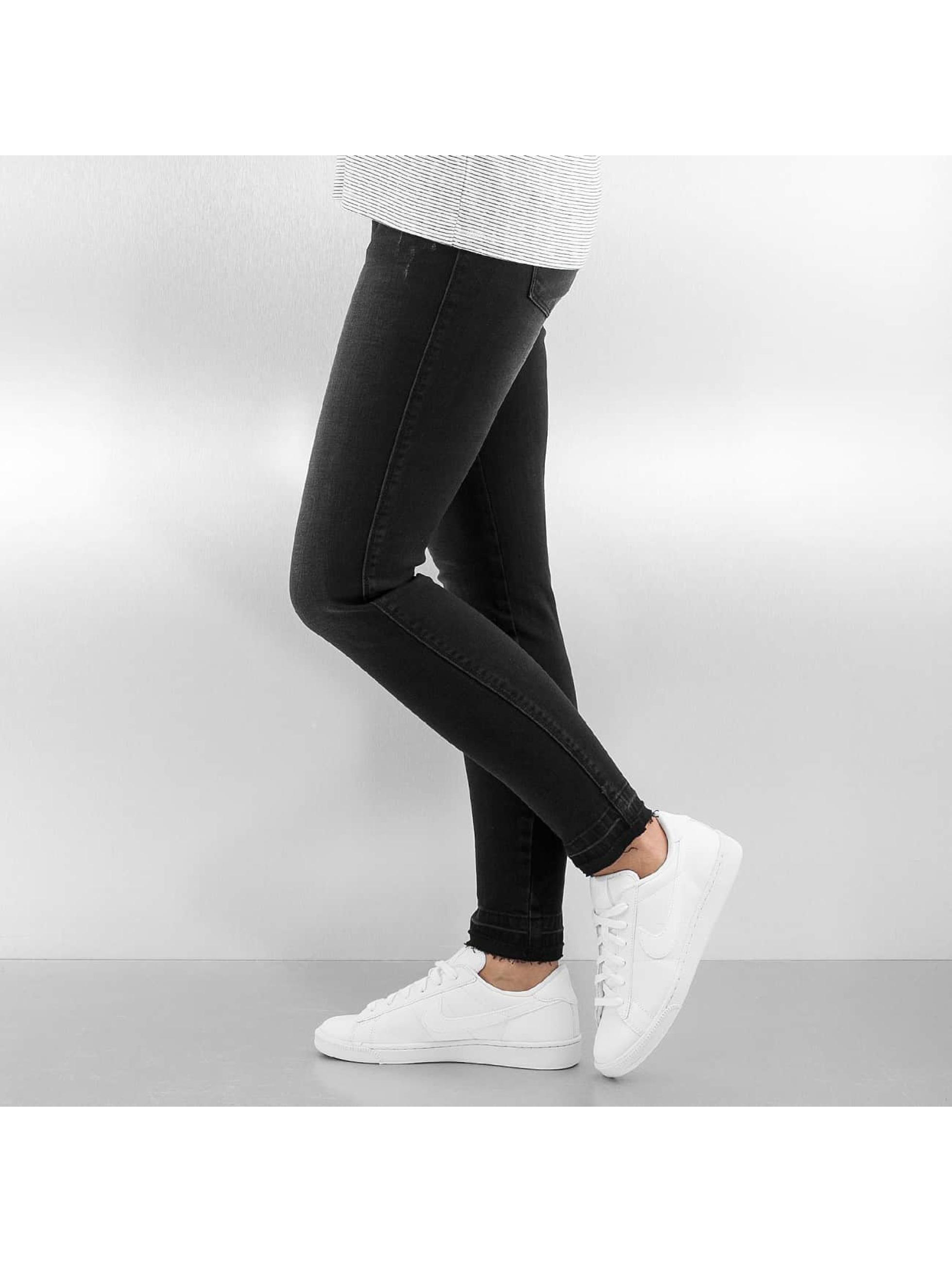 Only Облегающие джинсы onlCoral Short Ankle черный