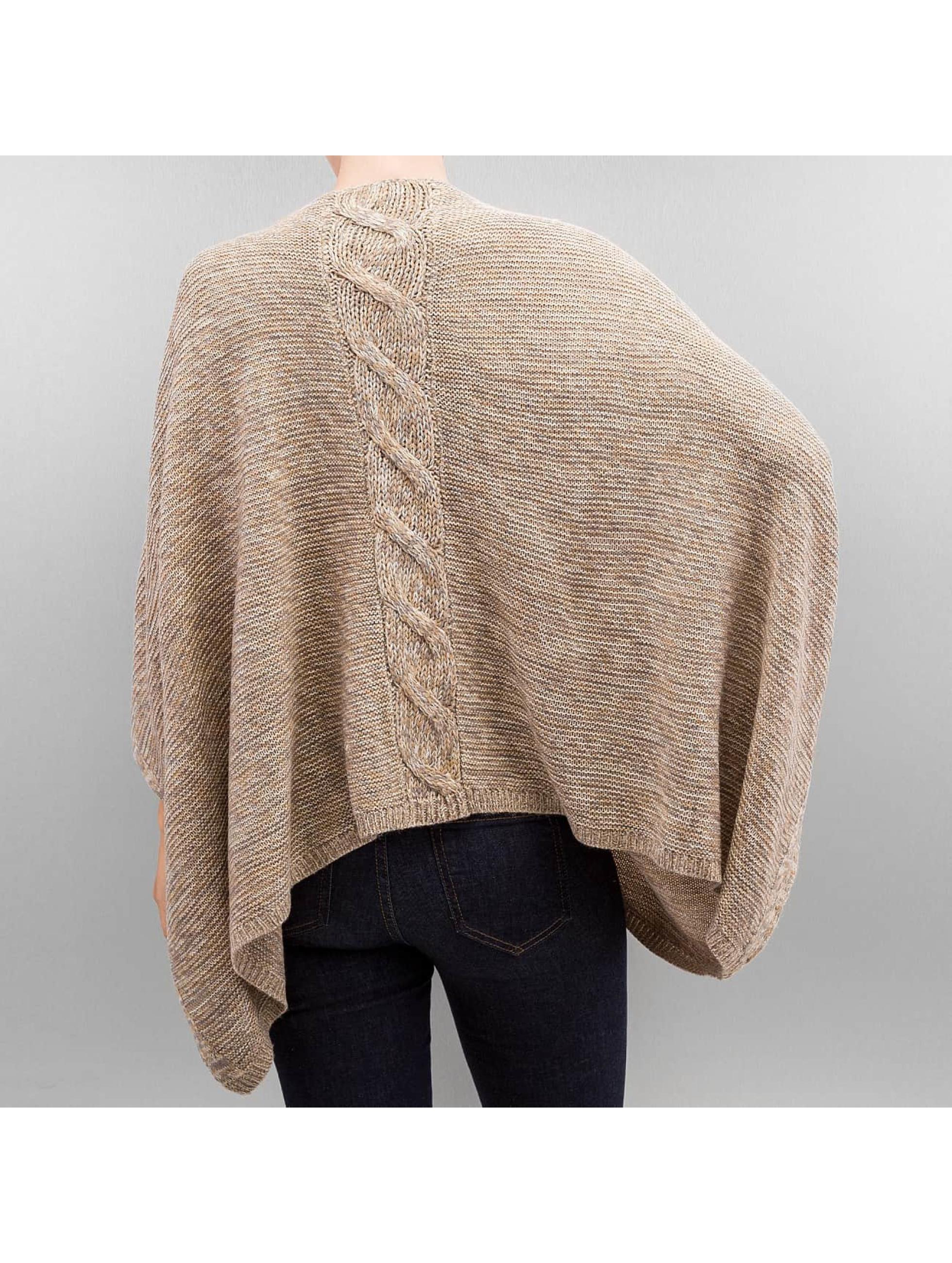 Only Пуловер onlAustin Poncho бежевый