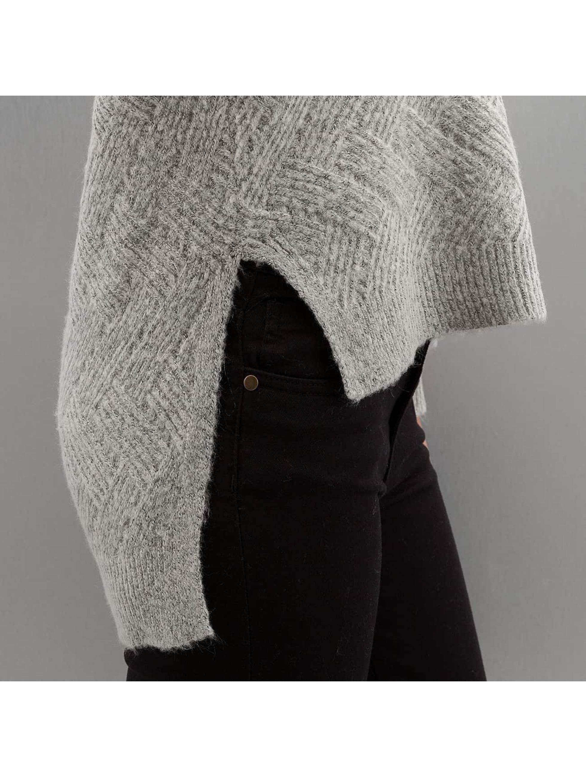 Only Пуловер onlBretagne серый