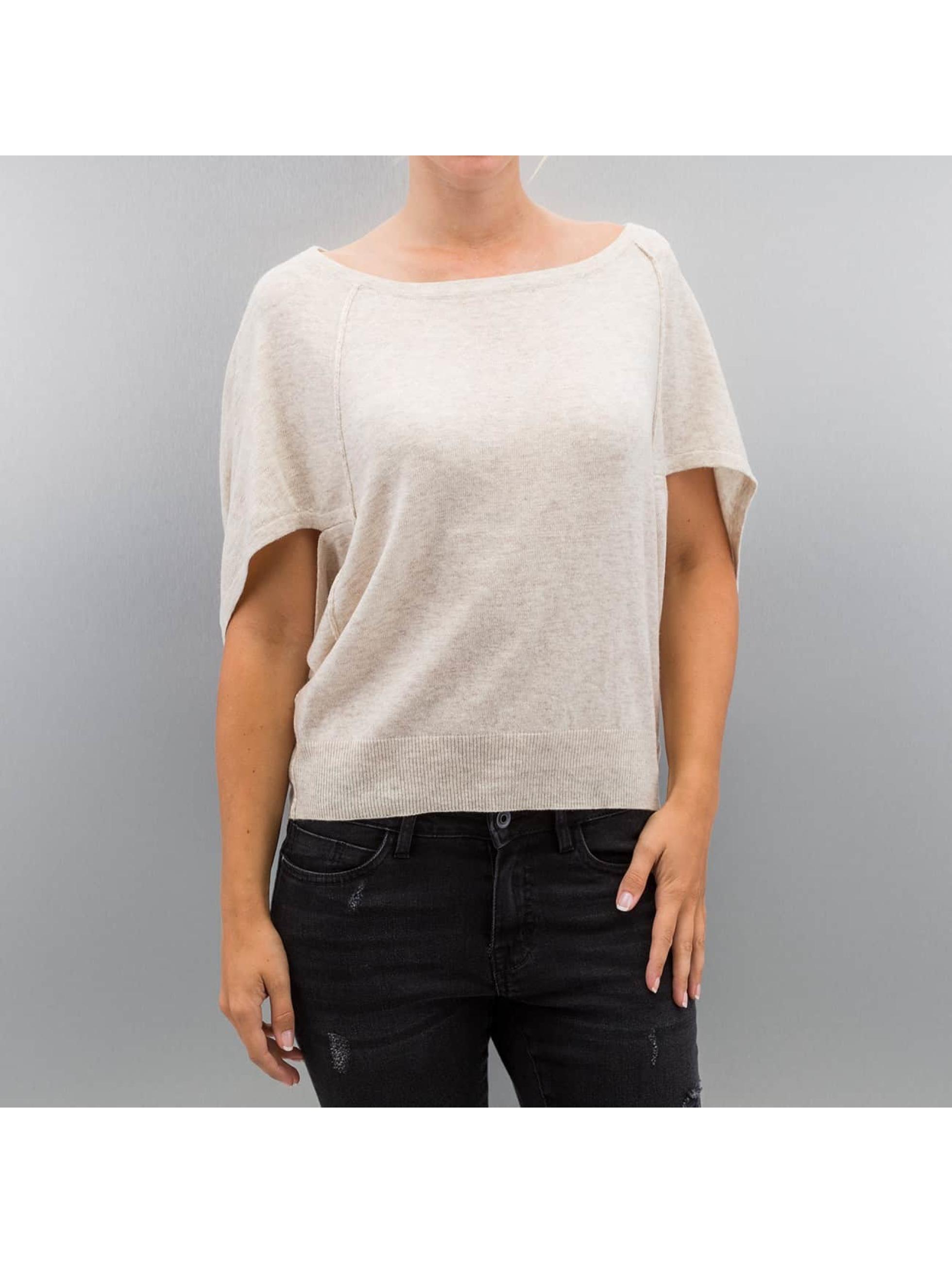 Only Пуловер onlKareen 3/4 Oversize серый