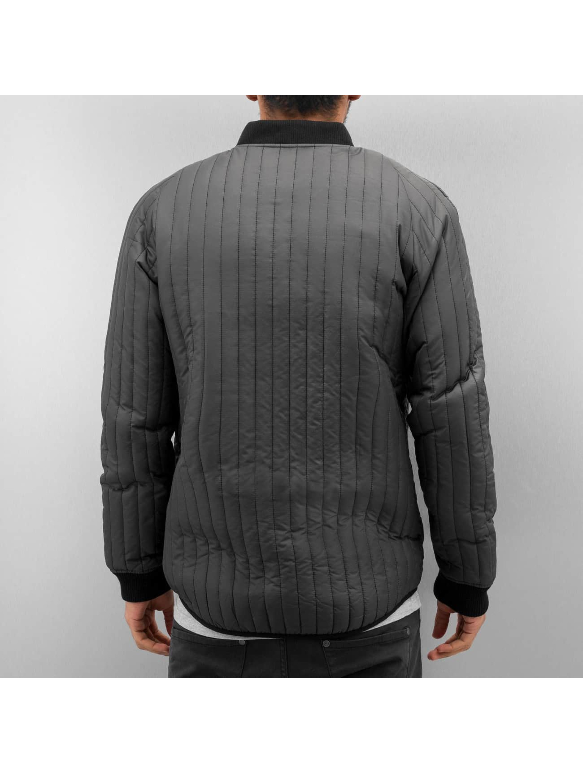 Only & Sons Bomber onsLiam Quilt gris