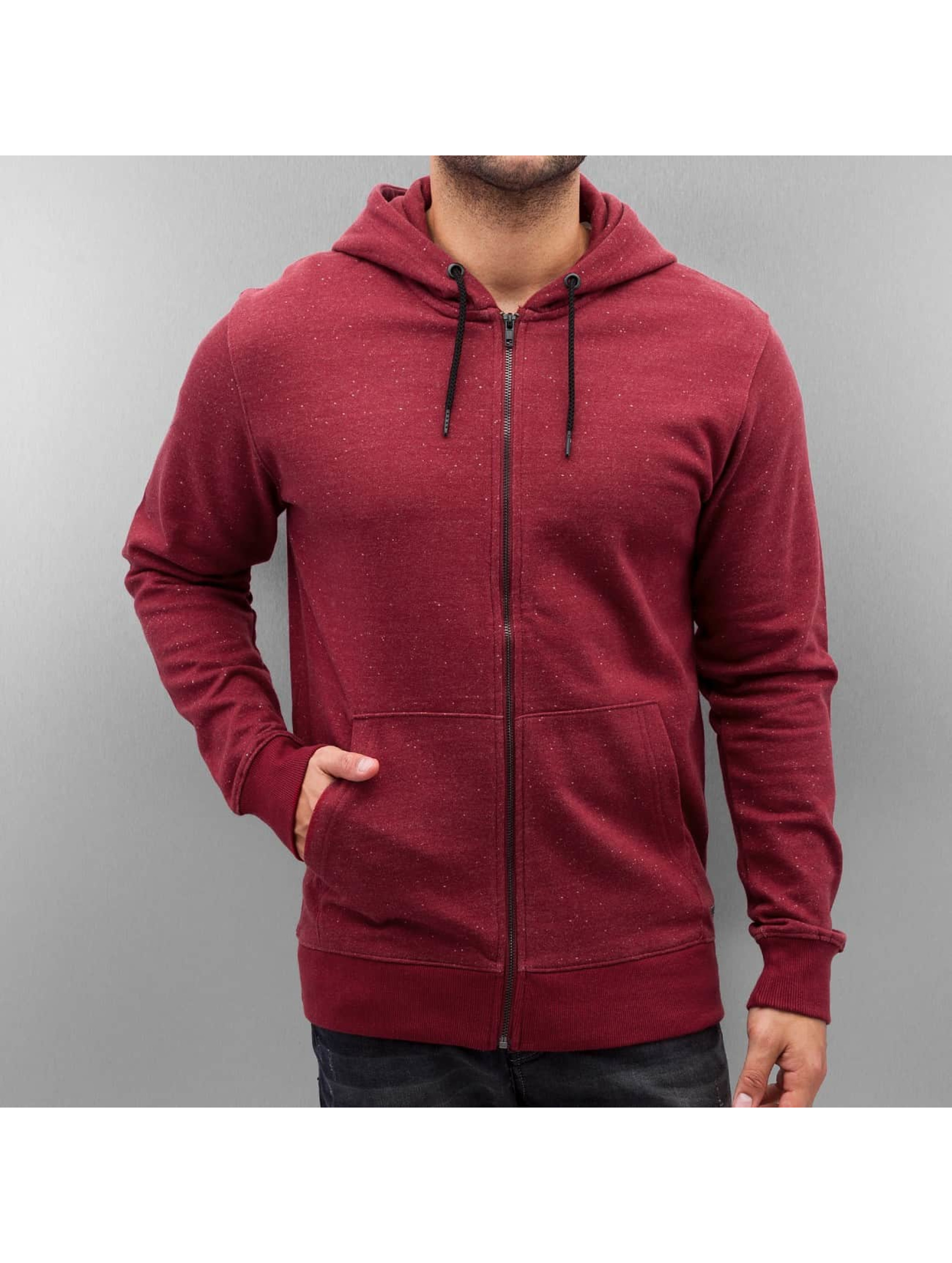 Only & Sons Hoodies con zip onsFiske rosso