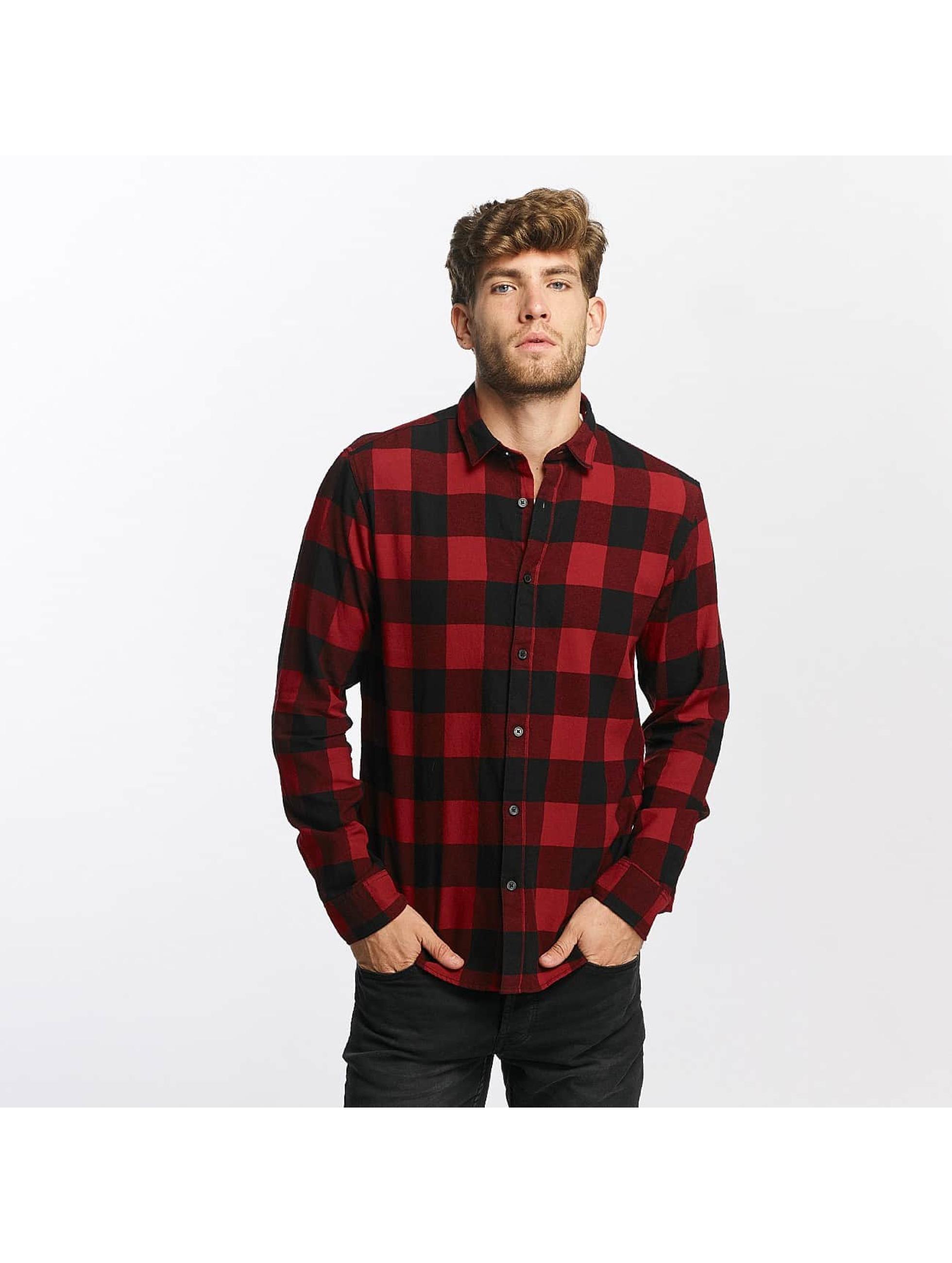 Only & Sons heren overhemd onsGudmund - rood