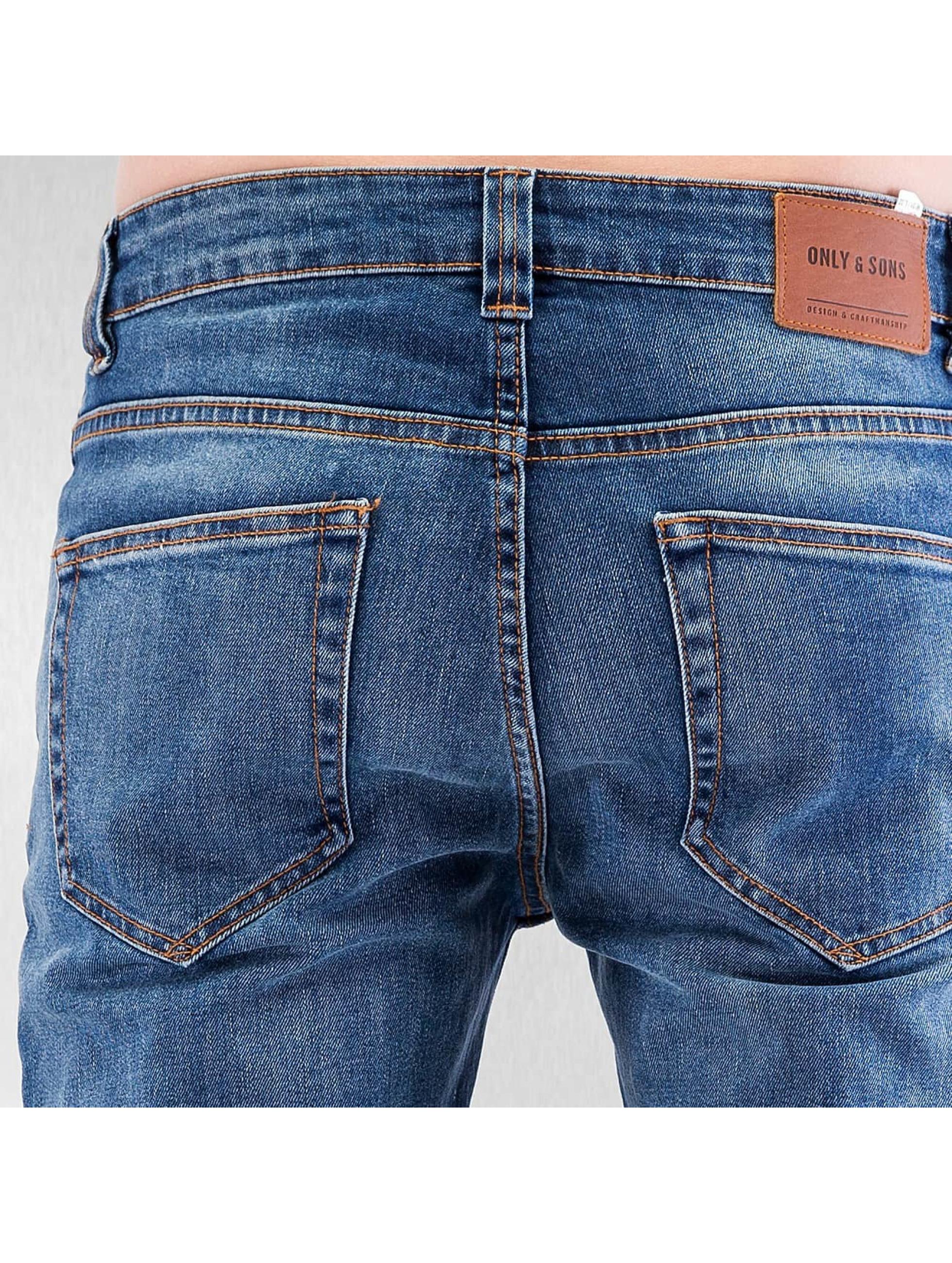 Only & Sons Skinny jeans onsLoom Slim blauw