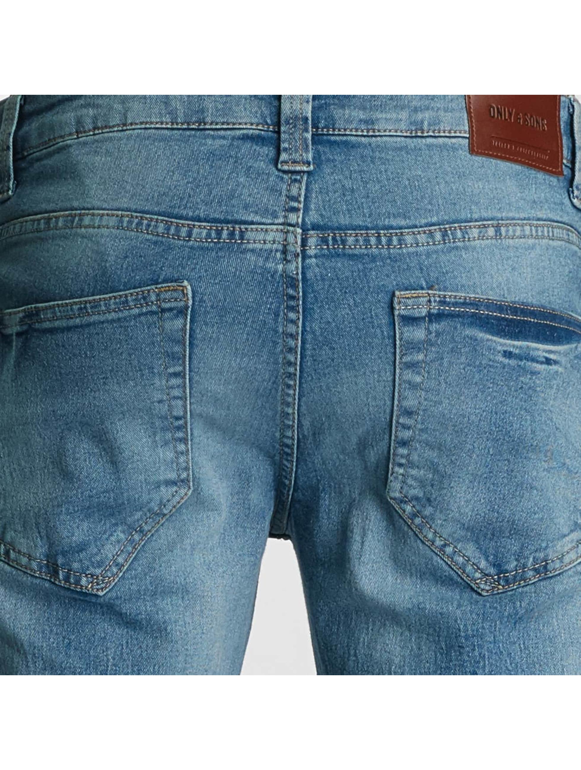 Only & Sons Skinny Jeans onsLoom Camp niebieski