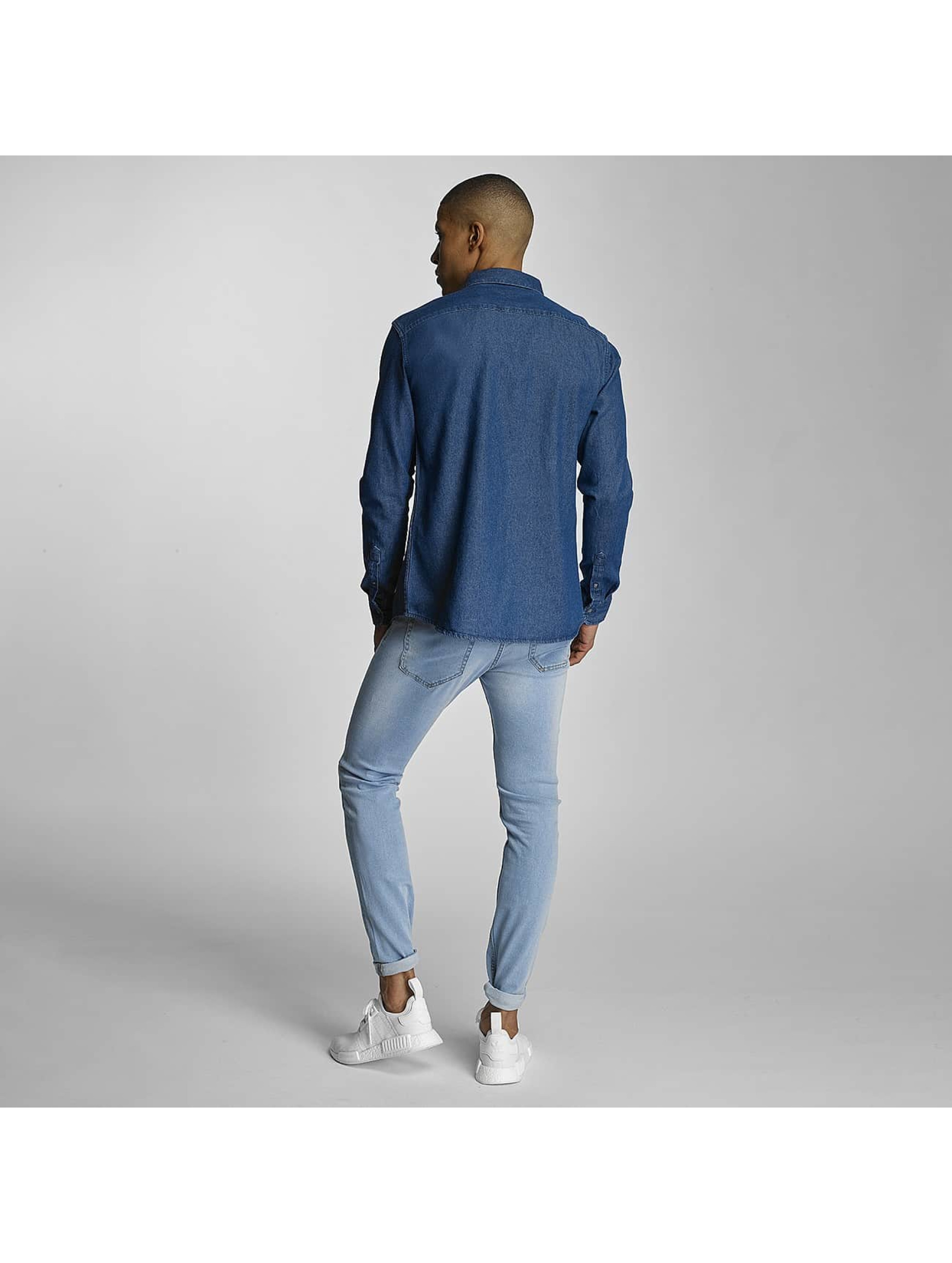 Only & Sons Skjorter onsDenim Clean blå