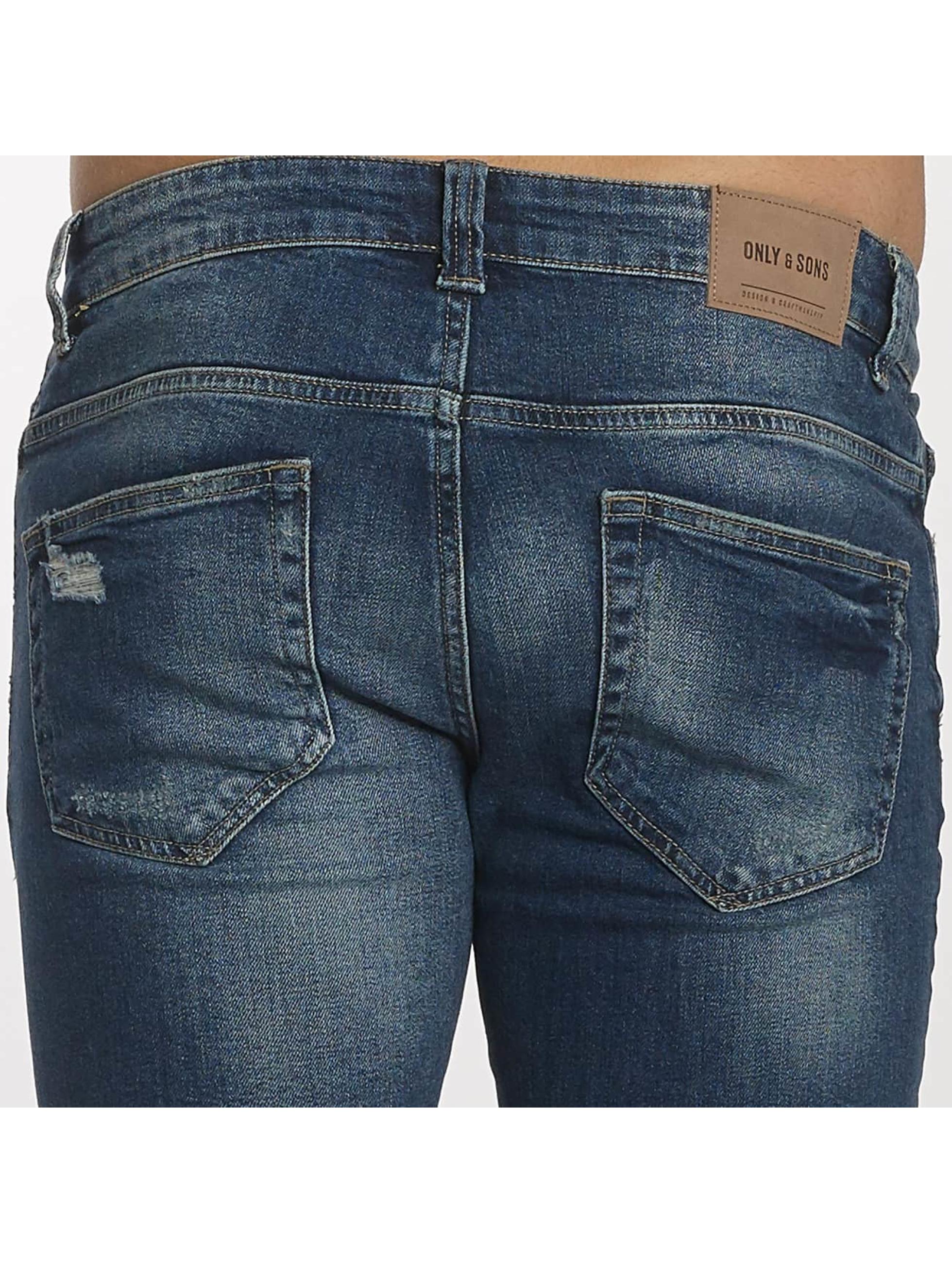 Only & Sons Slim Fit Jeans onsAvi Loom синий