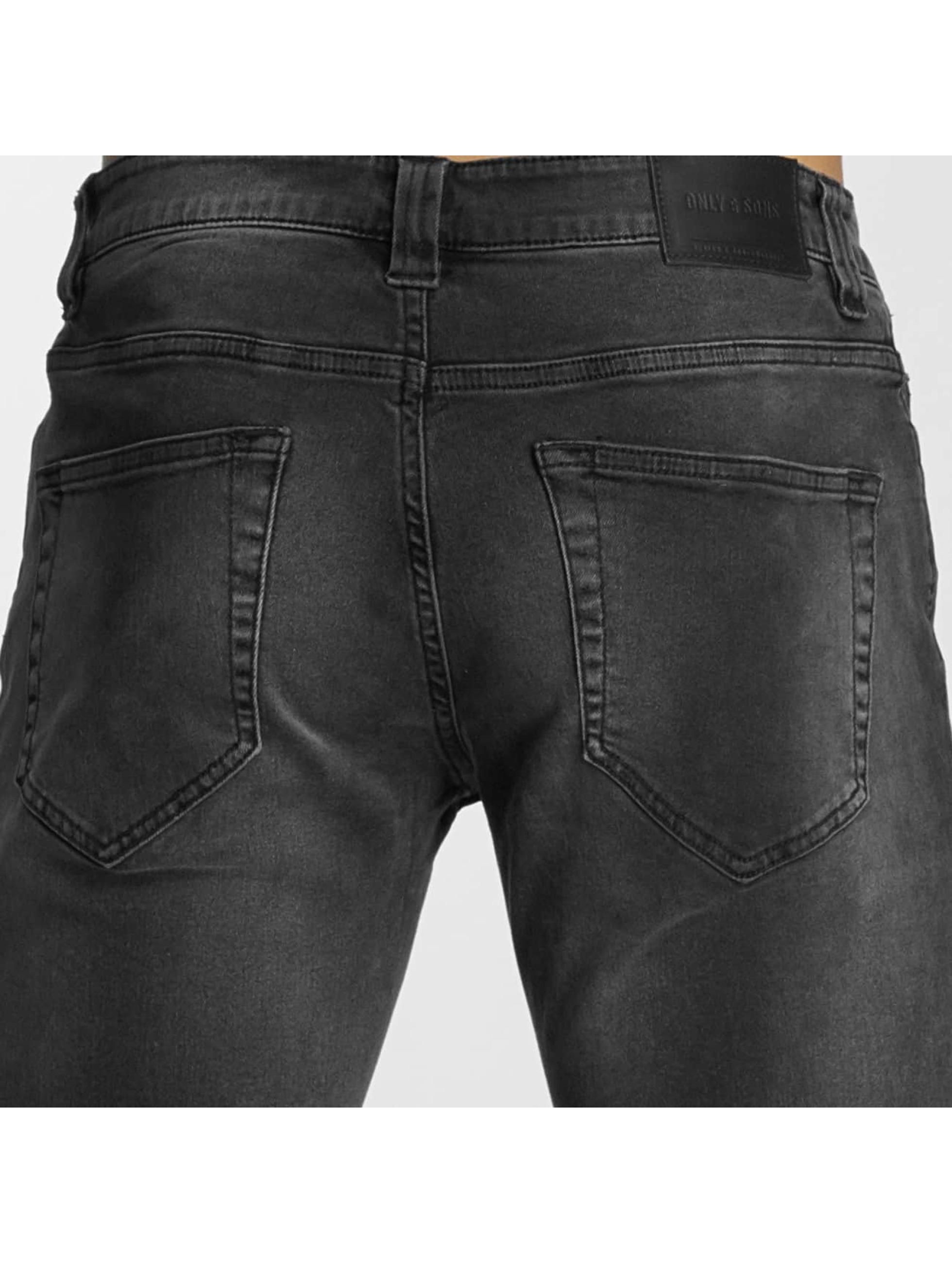 Only & Sons Slim Fit Jeans onsLoom черный