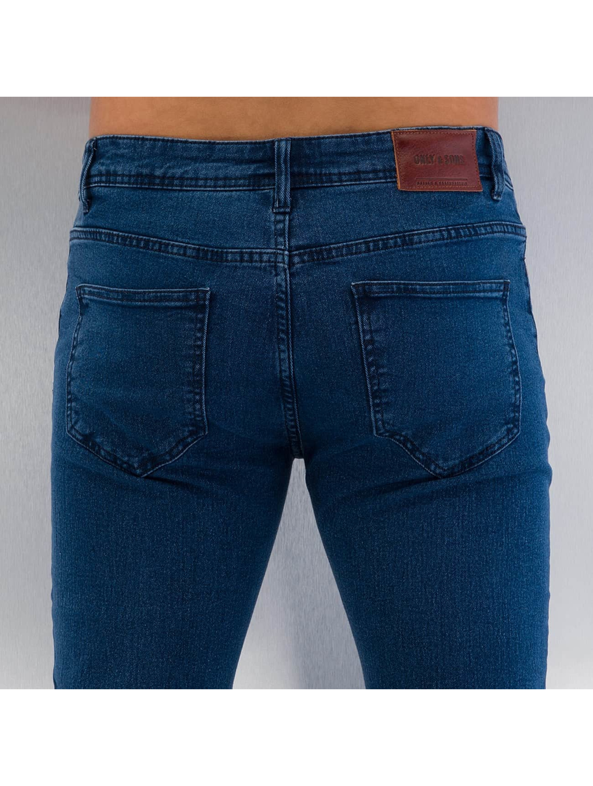 Only & Sons Straight Fit Jeans onsLoom Camp 5365 blå