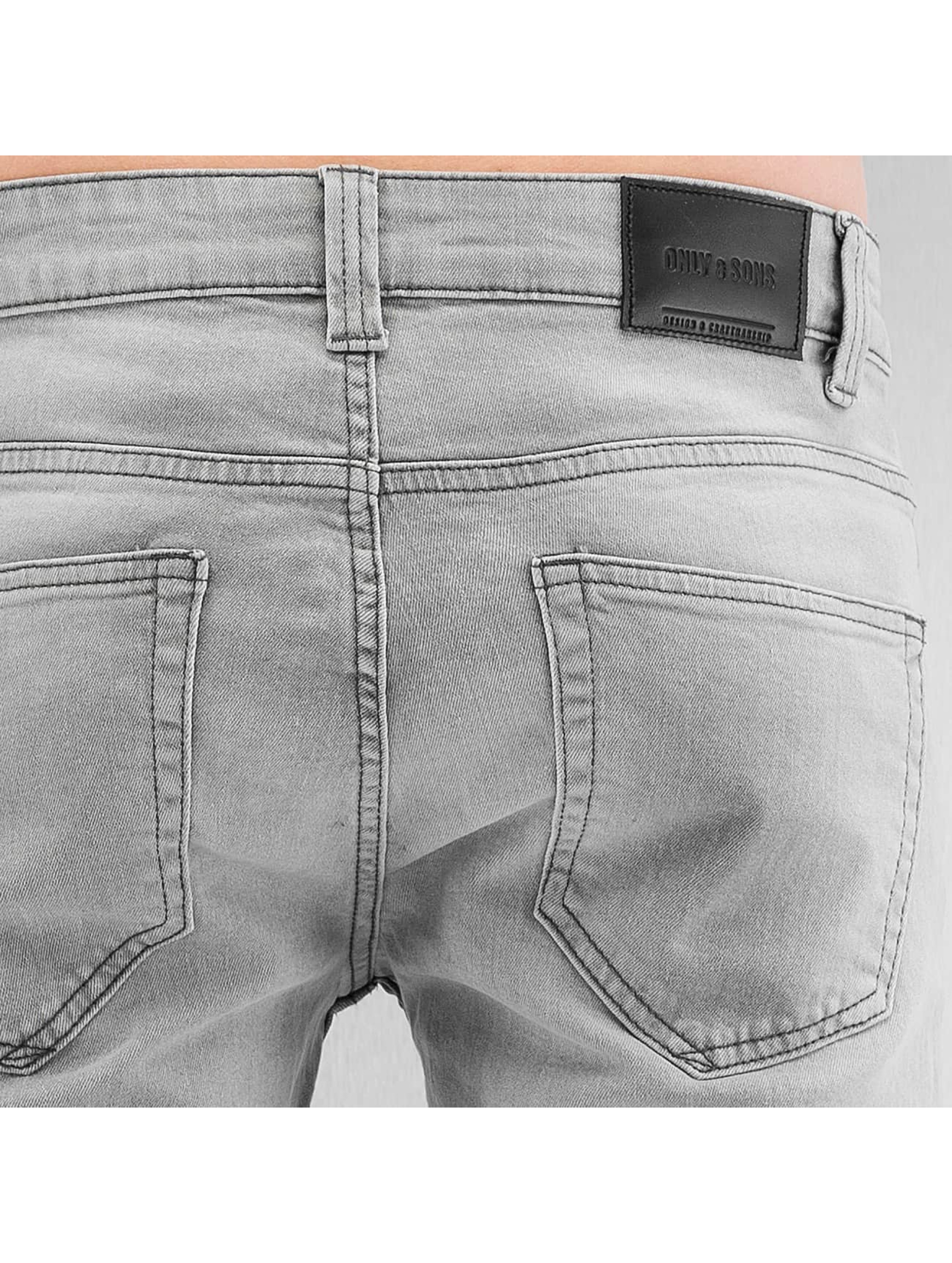Only & Sons Straight Fit Jeans onsLoom 6007 grey