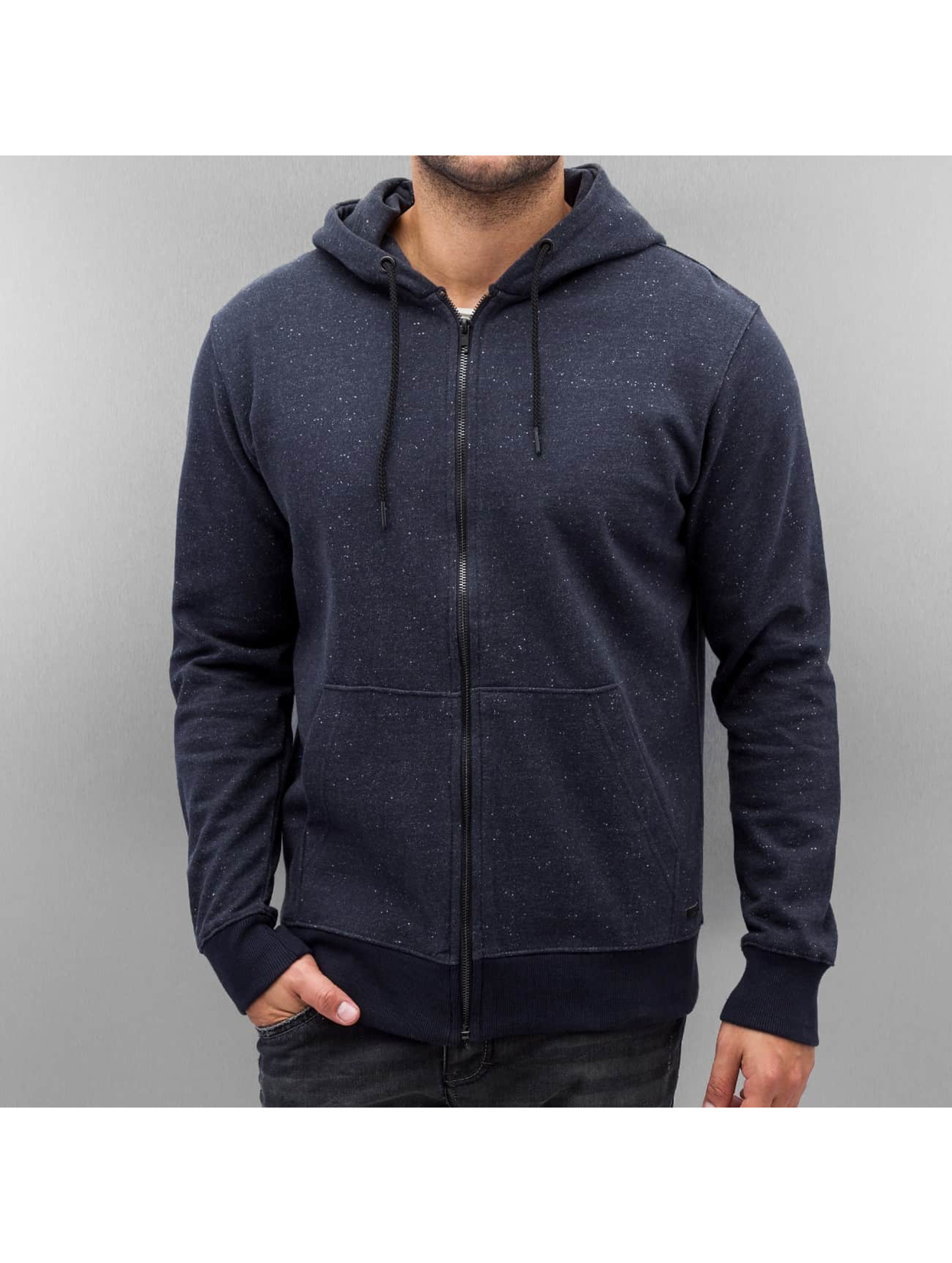 Only & Sons Sweat capuche zippé onsFiske bleu