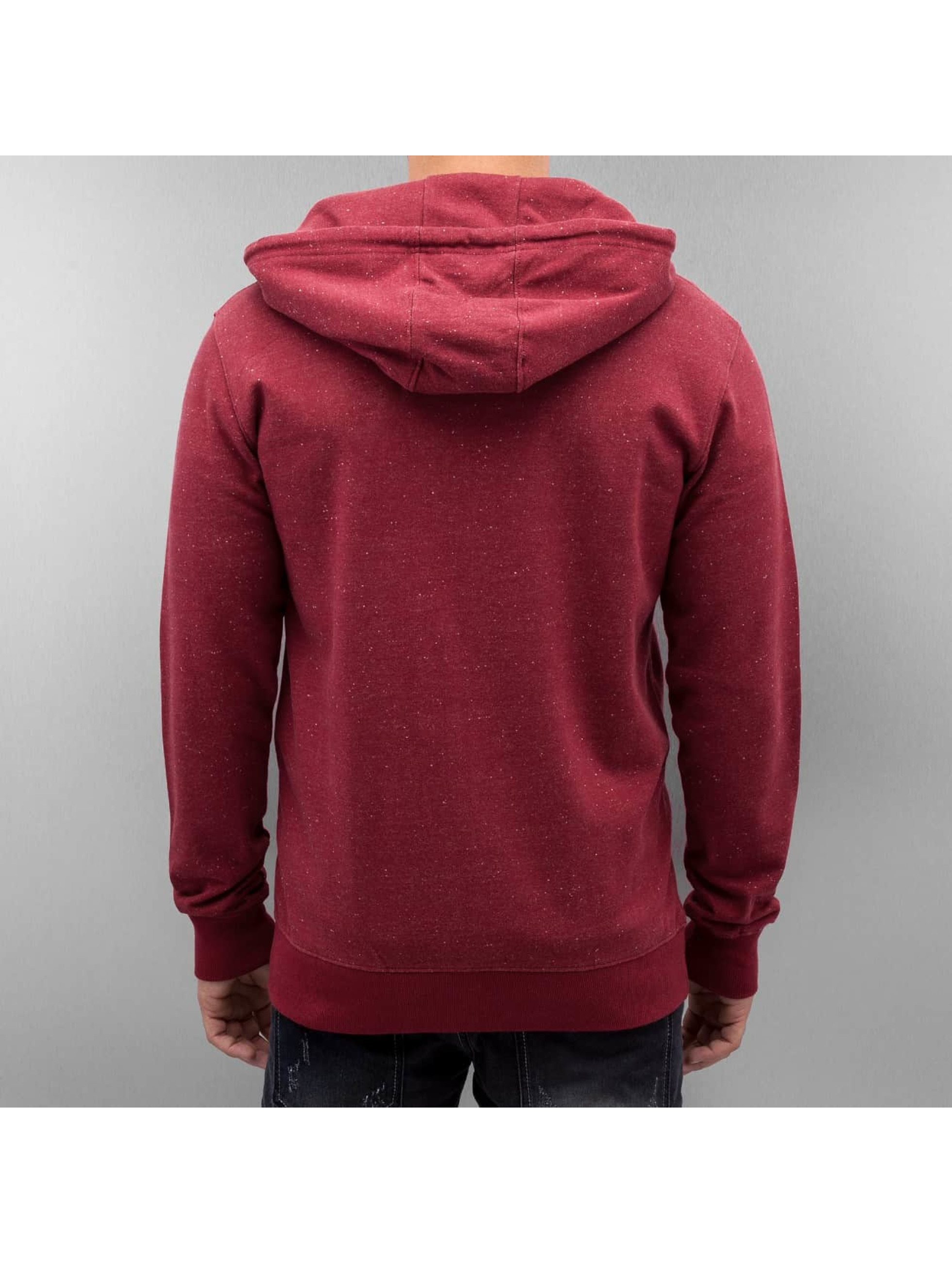 Only & Sons Sweat capuche zippé onsFiske rouge
