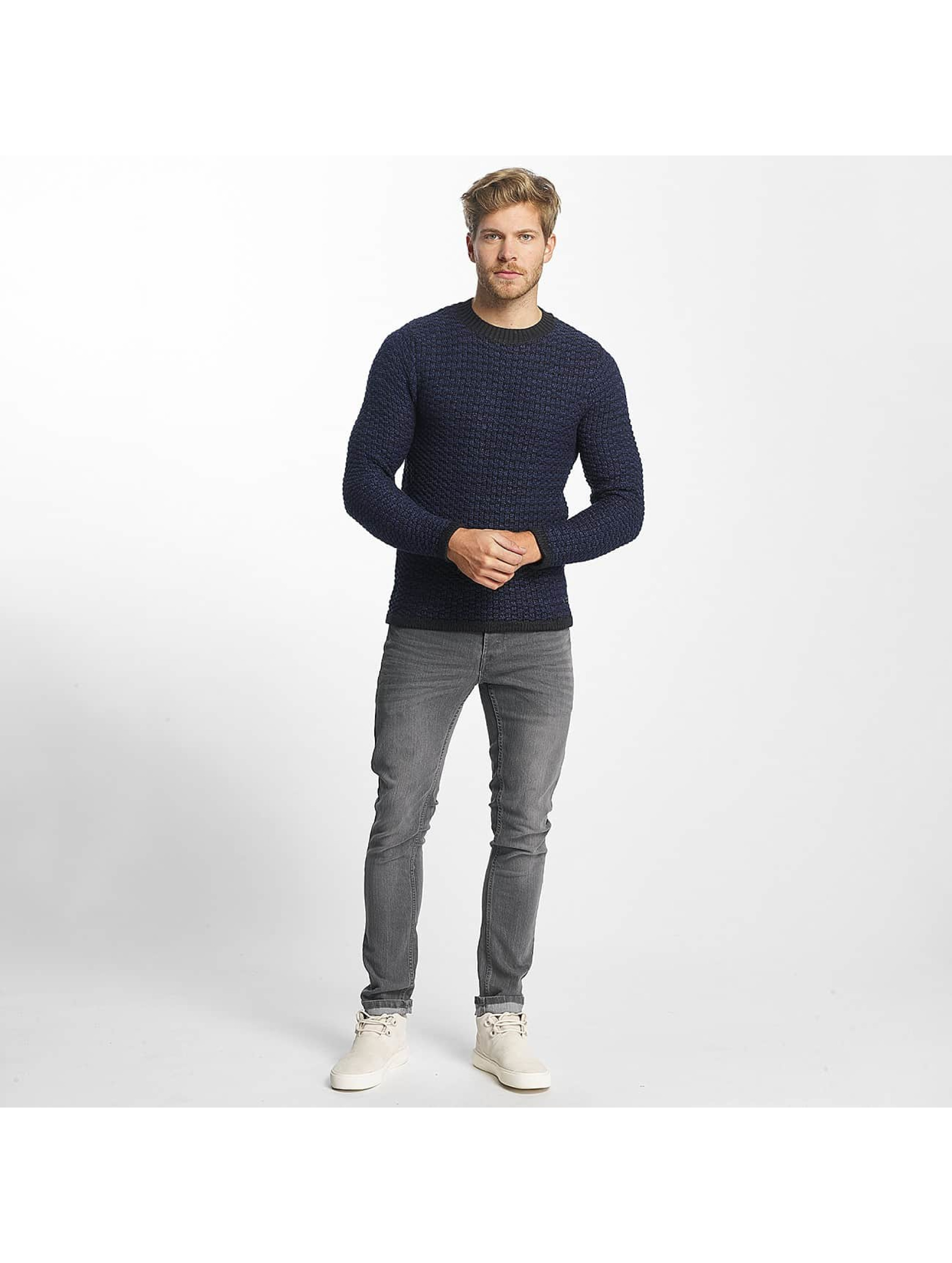 Only & Sons Swetry onsDoc Crew Neck niebieski