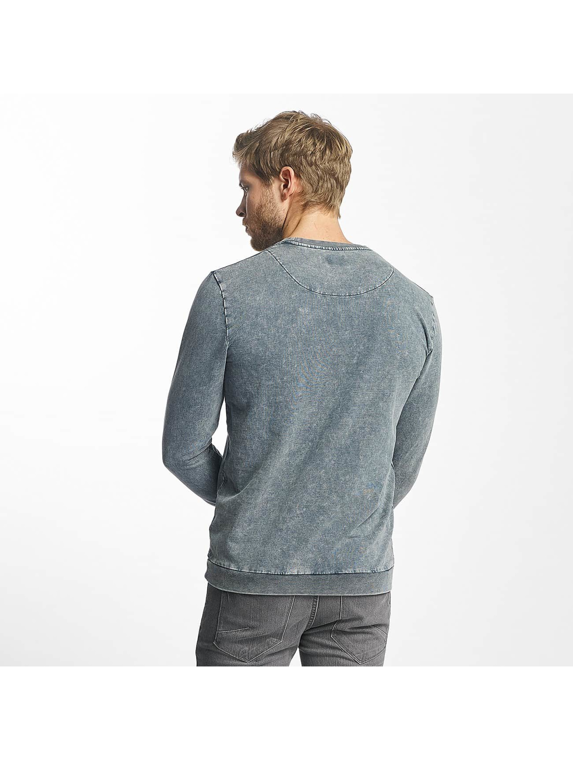 Only & Sons Swetry onsTrent Printed niebieski