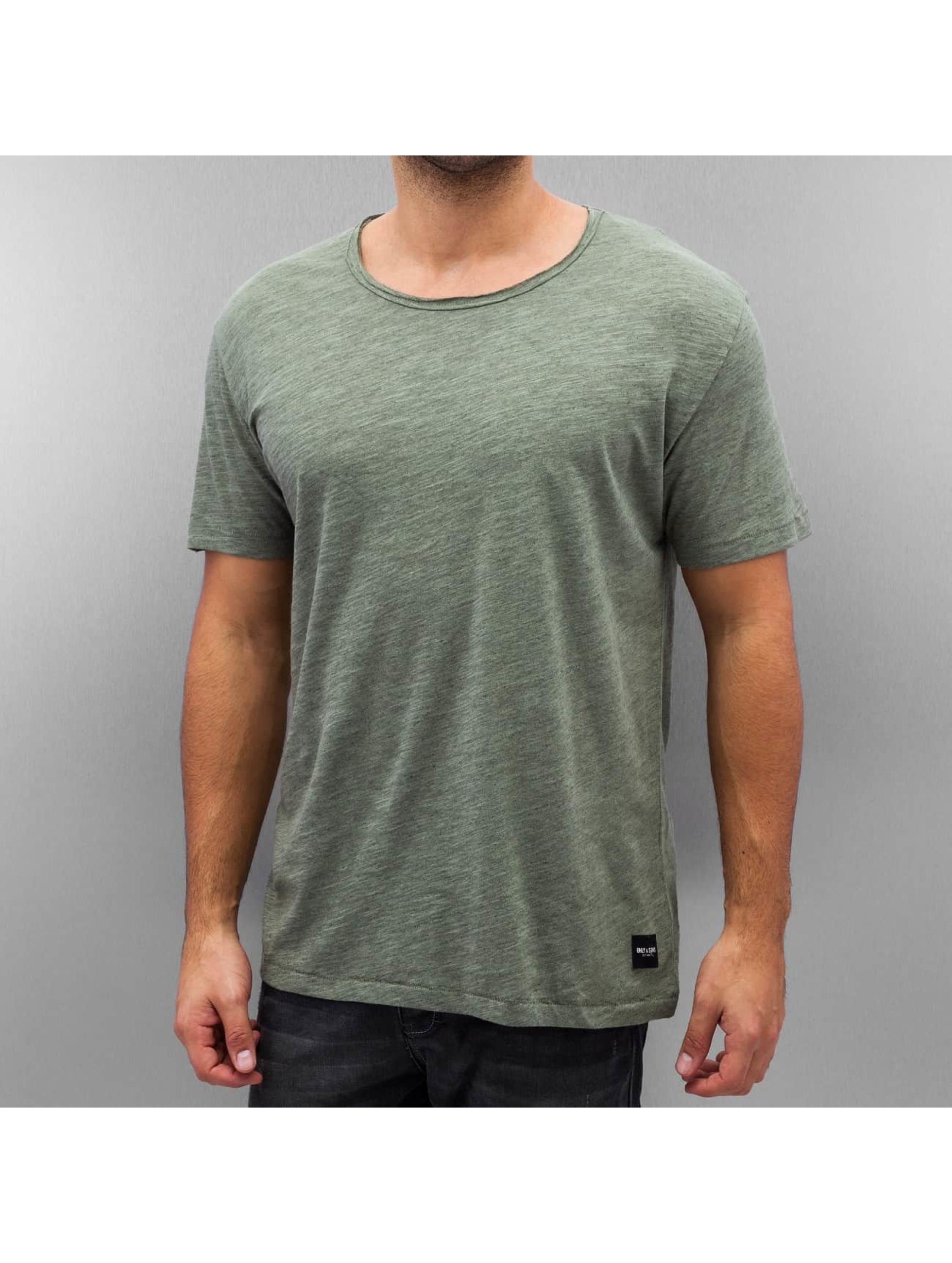 Only & Sons T-Shirt onsAlbert green
