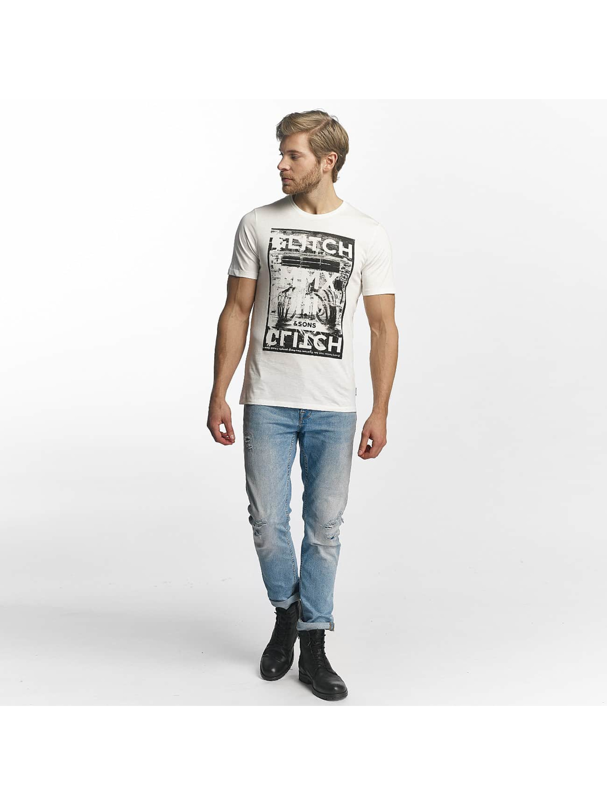 Only & Sons T-Shirty onsMaceo bialy