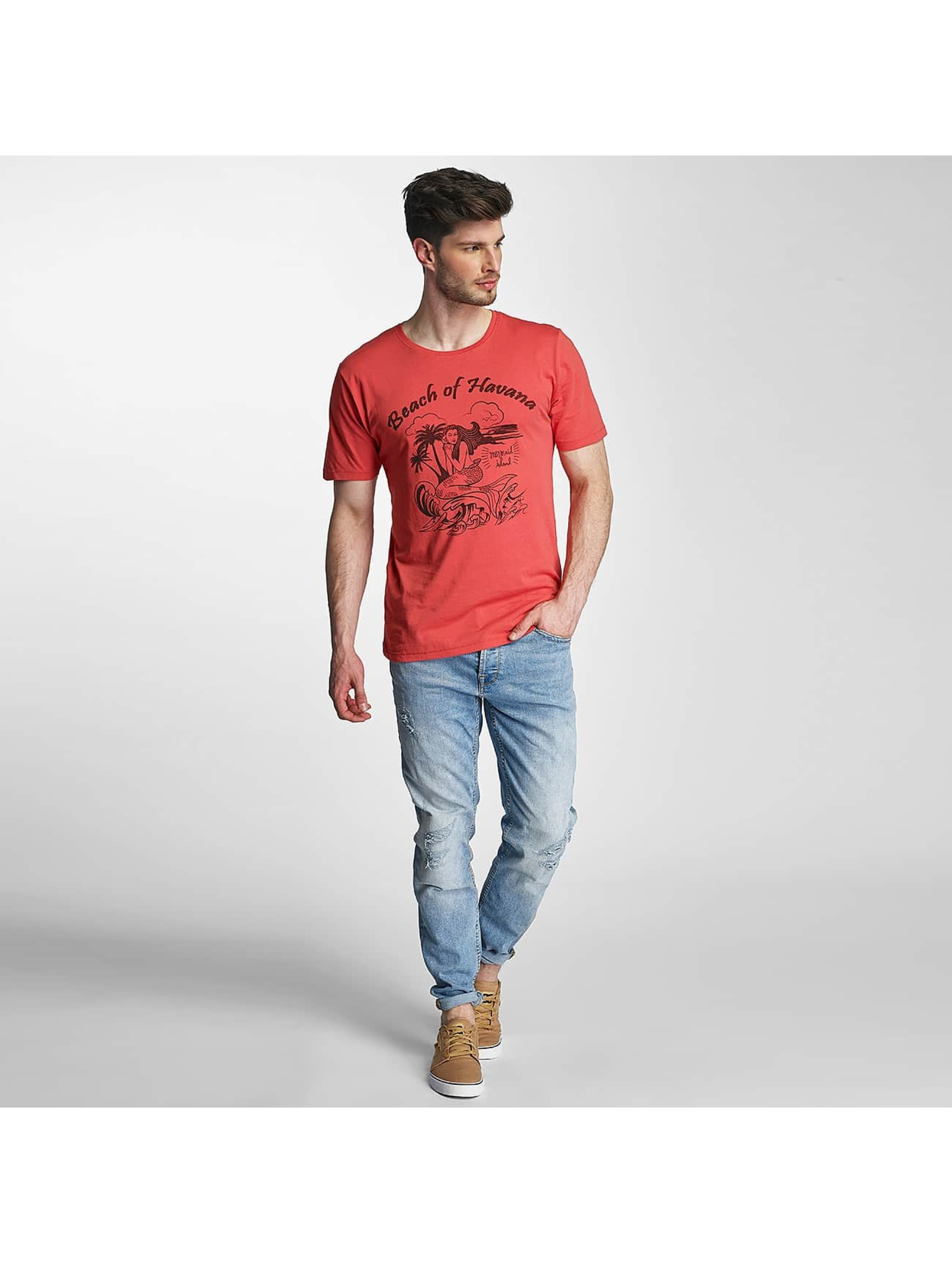 Only & Sons T-Shirty onsSevel czerwony